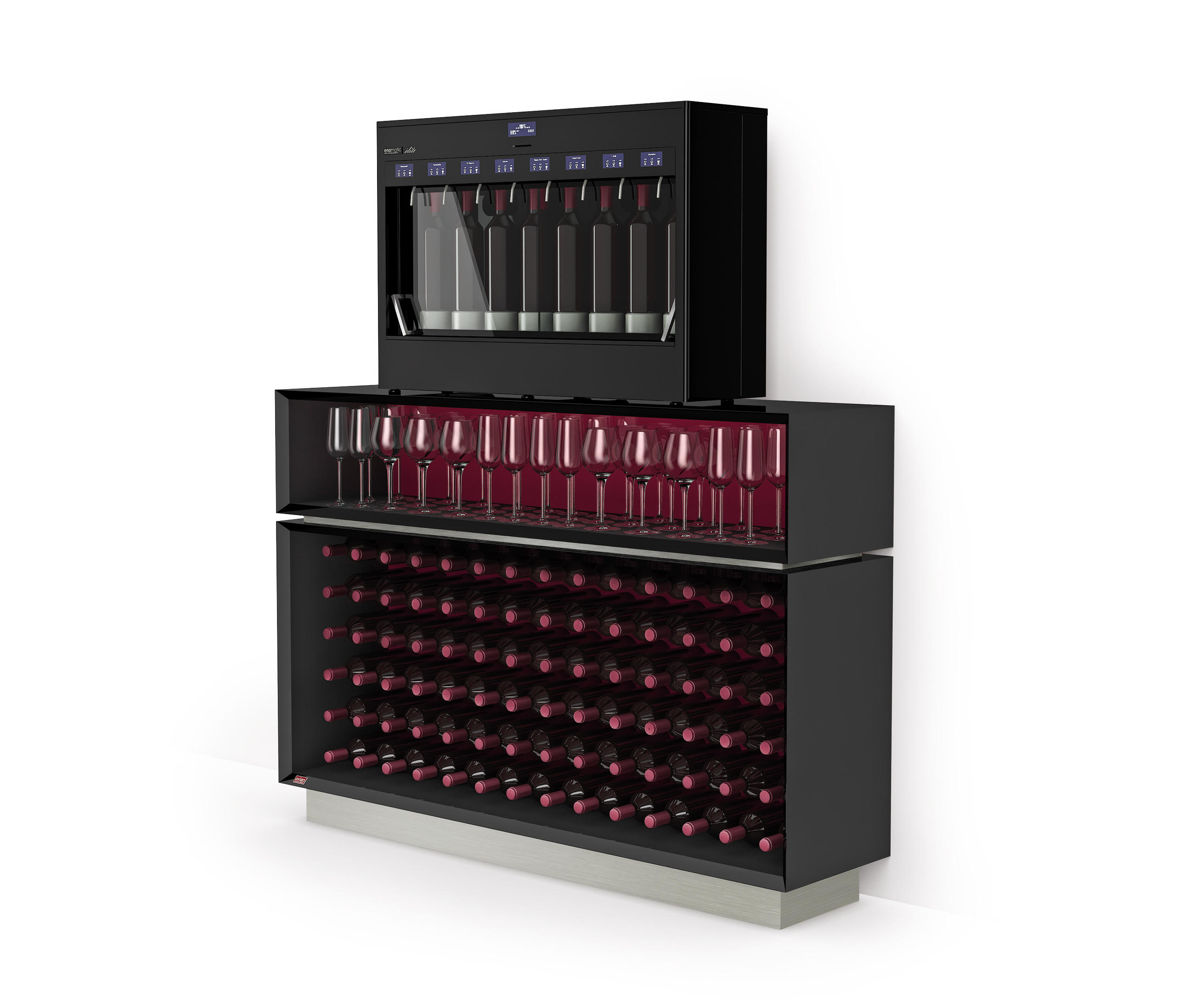 Kitchen Cabinet Manufacturers List Esigo Wss4 Wine Rack Cabinet Wine Racks From Esigo
