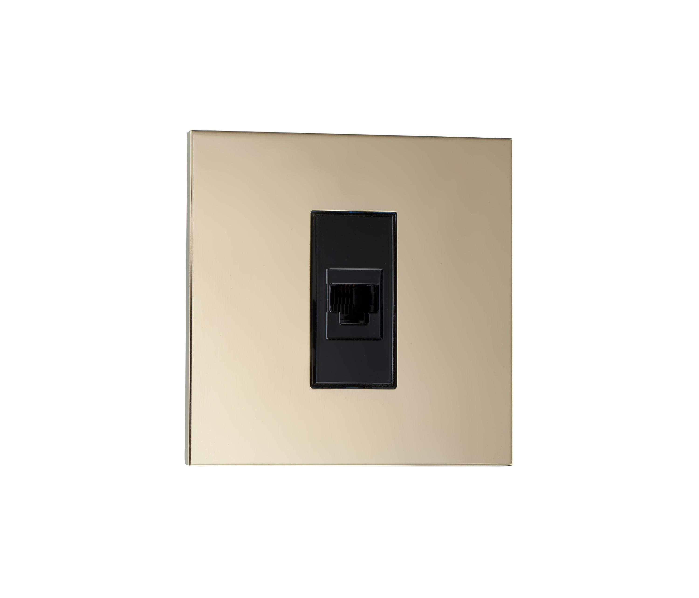 Paris lm laiton miroir usb power sockets from luxonov for Miroir venitien paris