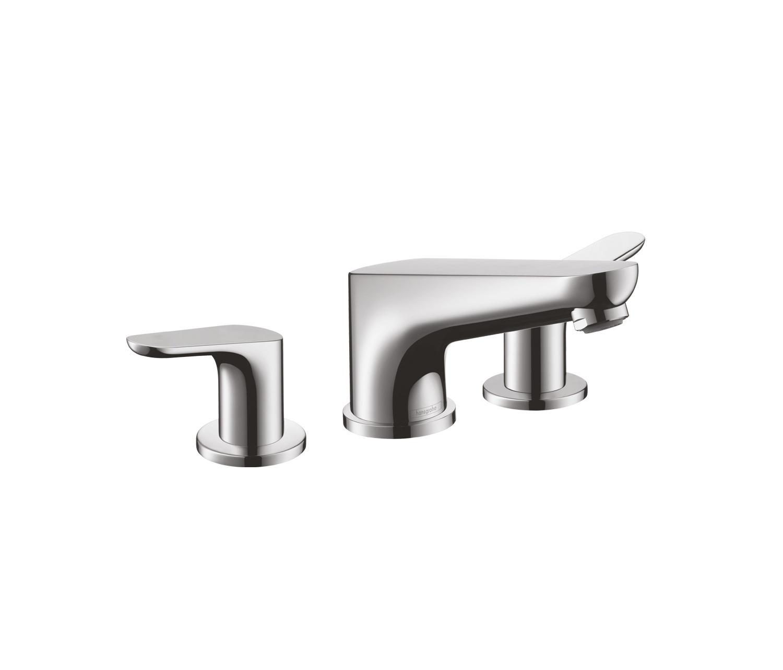 hansgrohe focus e 3 hole rim mounted bath mixer dn15 robinetterie pour baignoire de hansgrohe. Black Bedroom Furniture Sets. Home Design Ideas