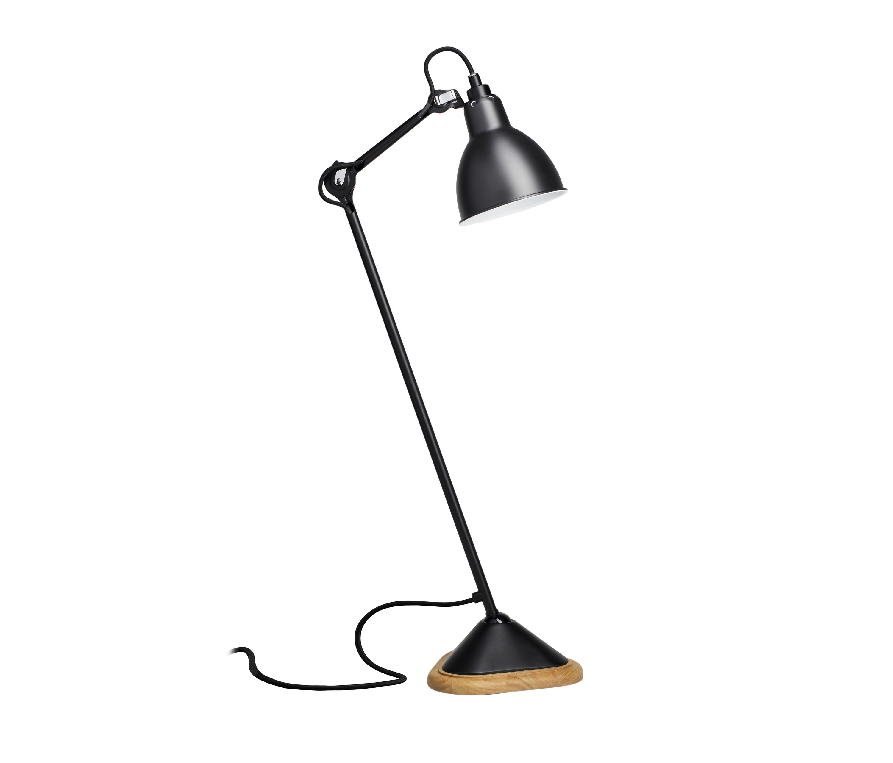 lampe gras n 206 black general lighting from dcw. Black Bedroom Furniture Sets. Home Design Ideas