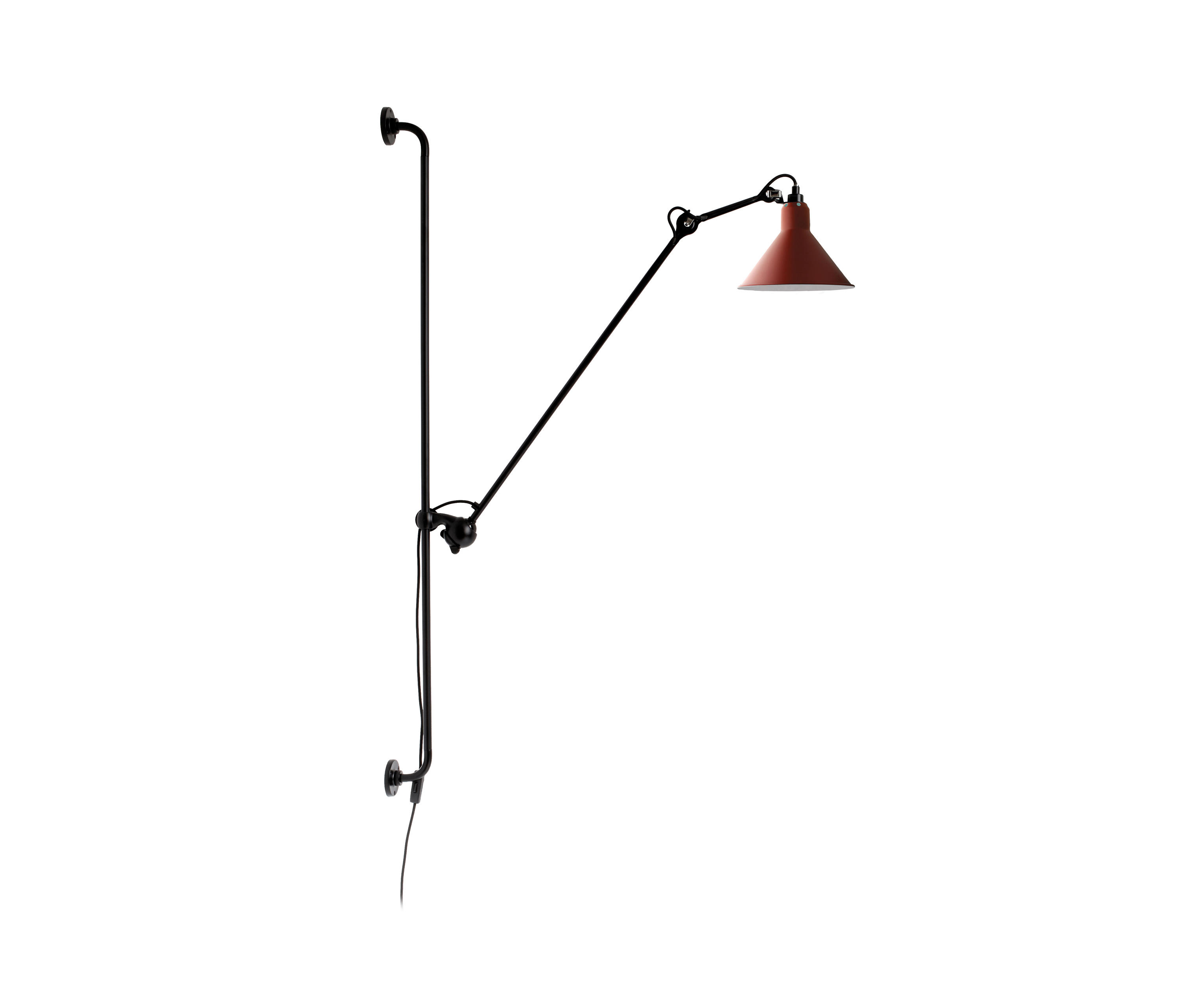 lampe gras n 214 red general lighting from dcw. Black Bedroom Furniture Sets. Home Design Ideas