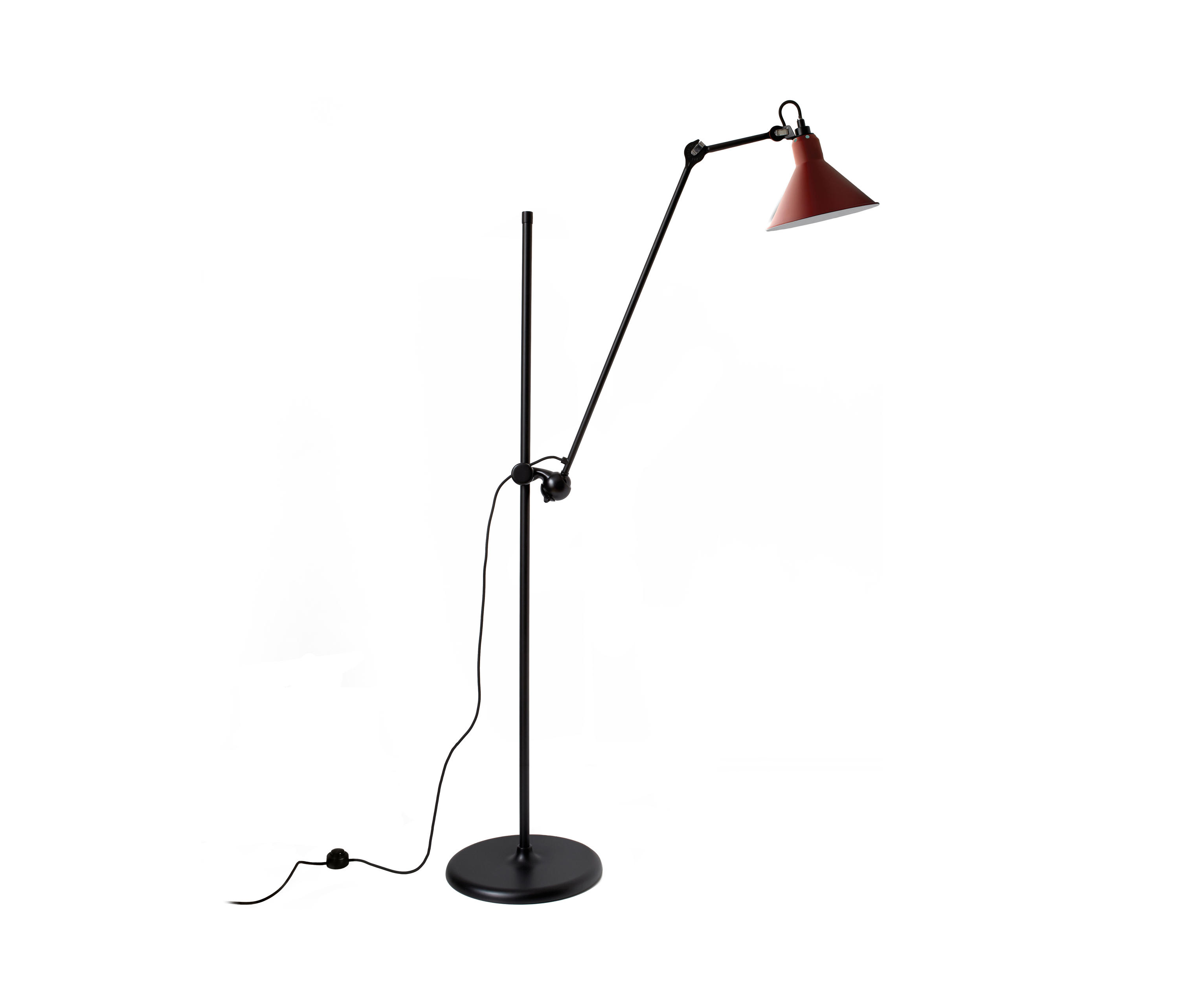 lampe gras n 215 l red general lighting from dcw. Black Bedroom Furniture Sets. Home Design Ideas