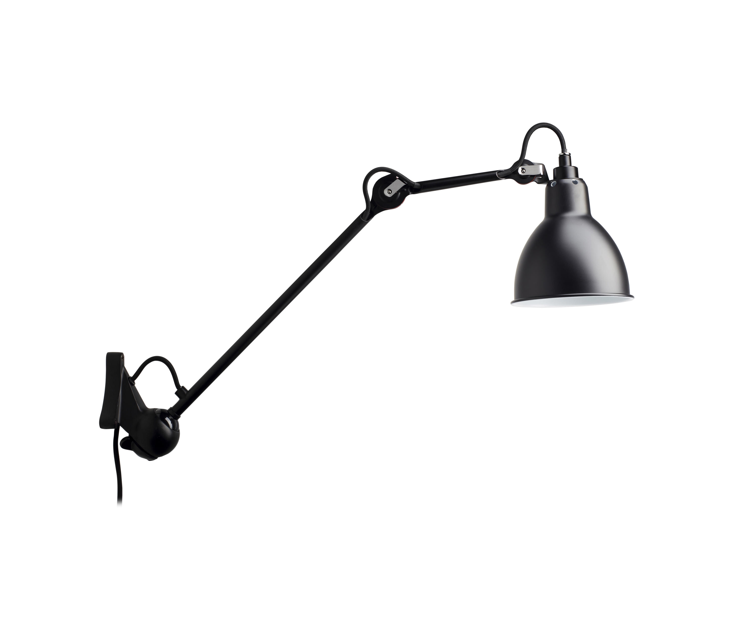 lampe gras n 222 black general lighting from dcw. Black Bedroom Furniture Sets. Home Design Ideas