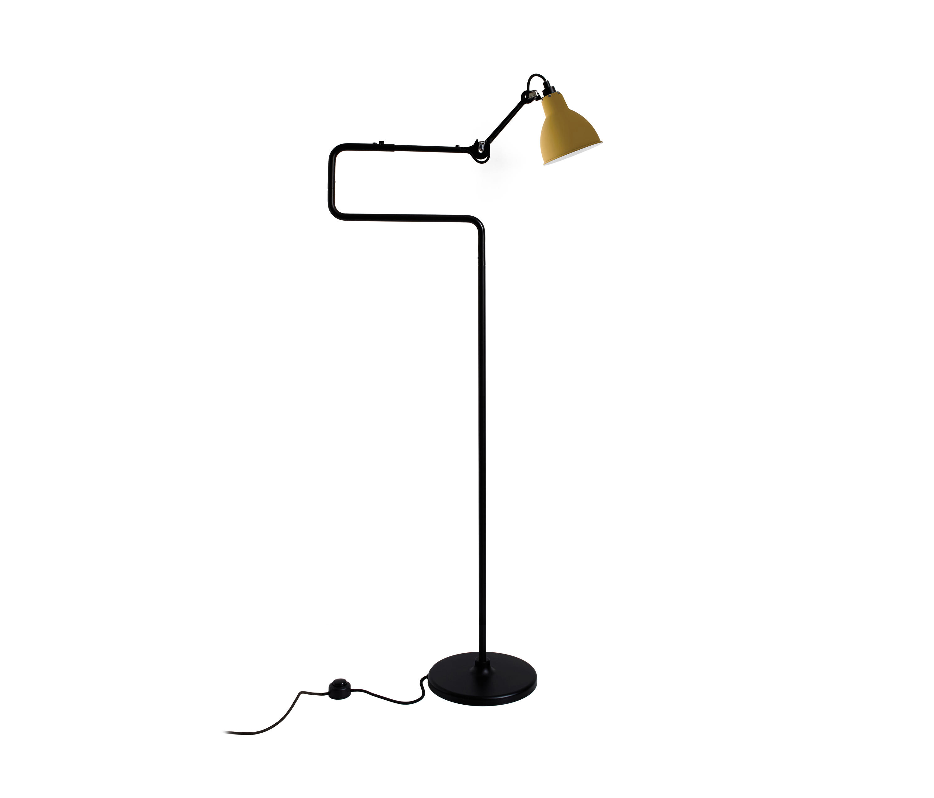 lampe gras n 411 yellow clairage g n ral de dcw ditions architonic. Black Bedroom Furniture Sets. Home Design Ideas