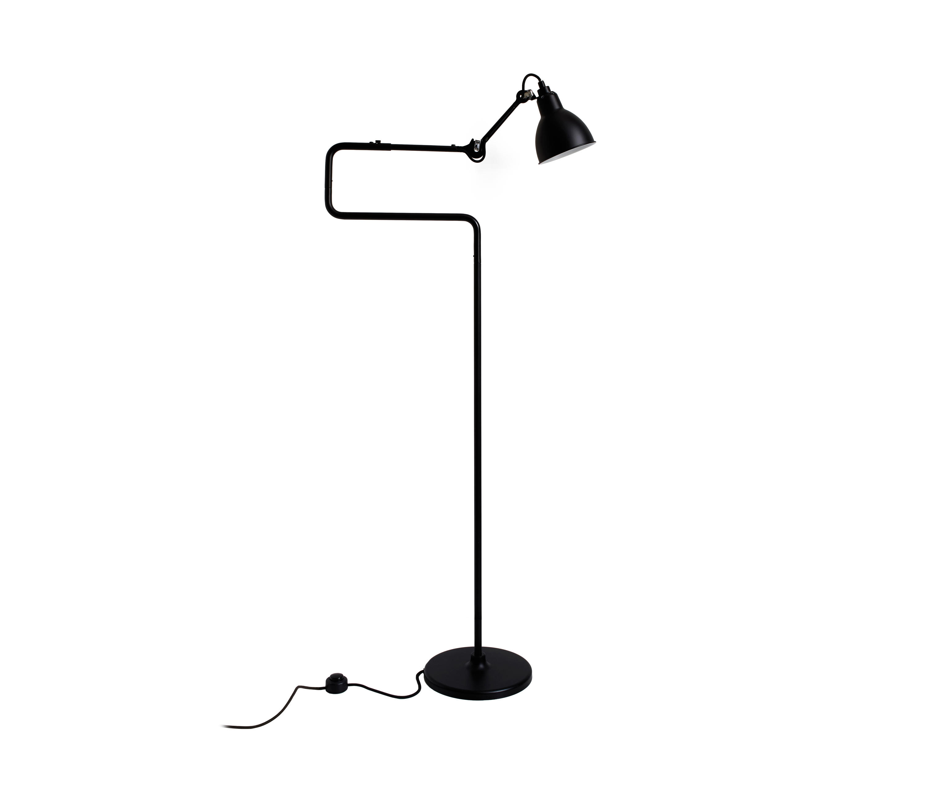 Lampe Gras N 411 Black Free Standing Lights From Dcw Editions
