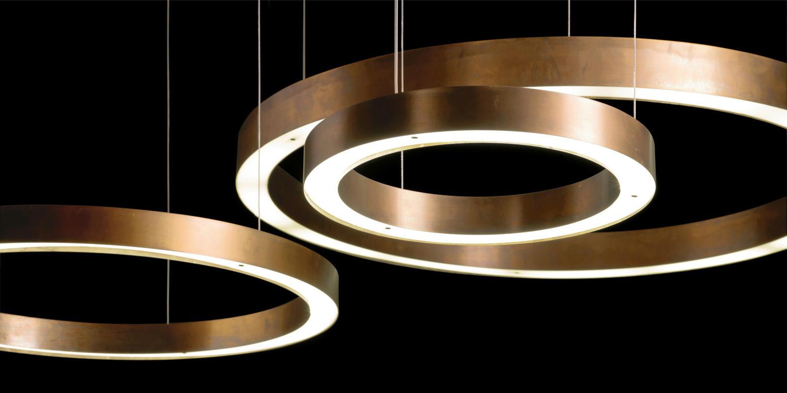 Home Interior Design Magazine Pdf Light Ring Horizontal Suspended Lights From Henge