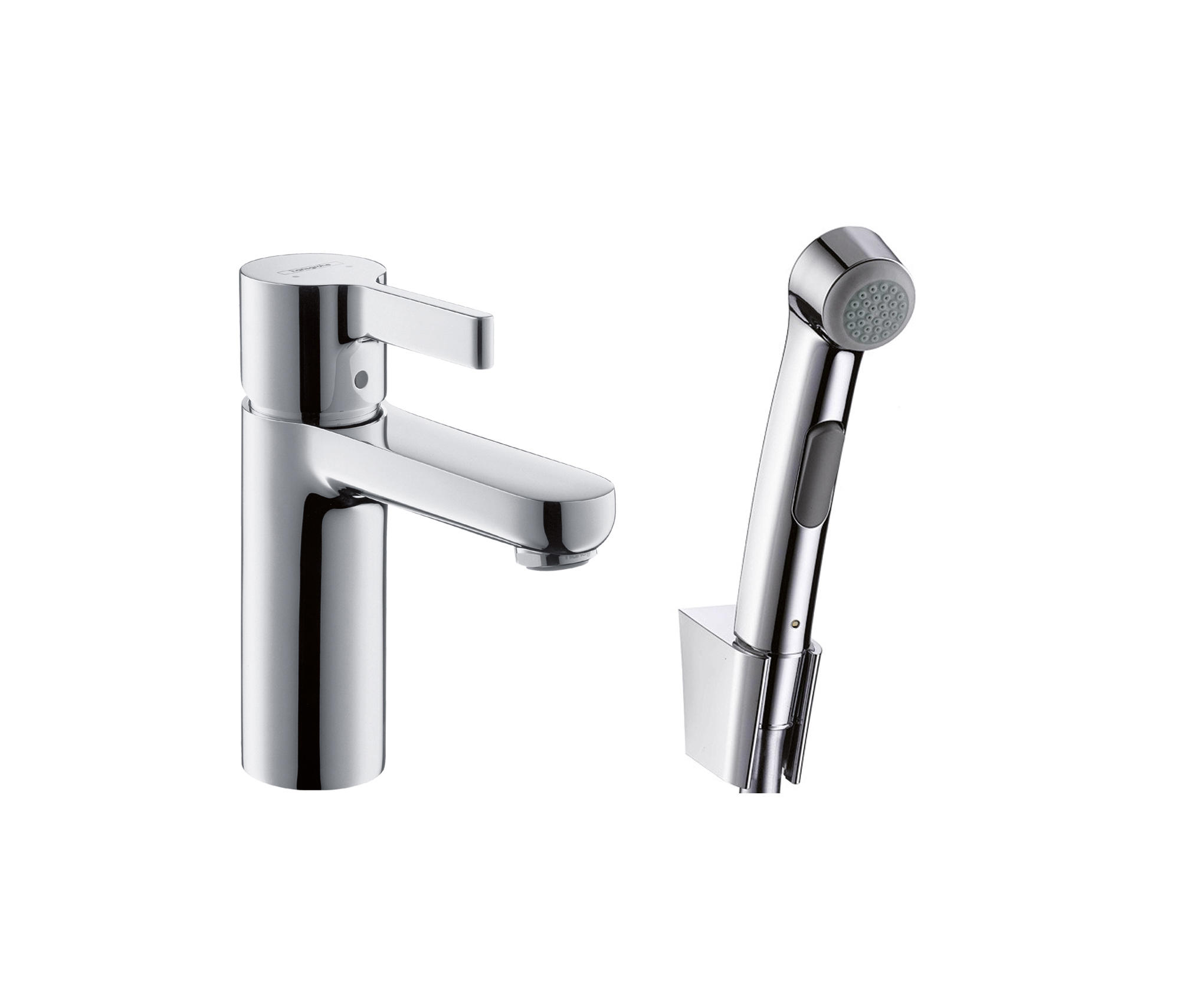 hansgrohe metris s bidette set dn15 bidet taps from. Black Bedroom Furniture Sets. Home Design Ideas