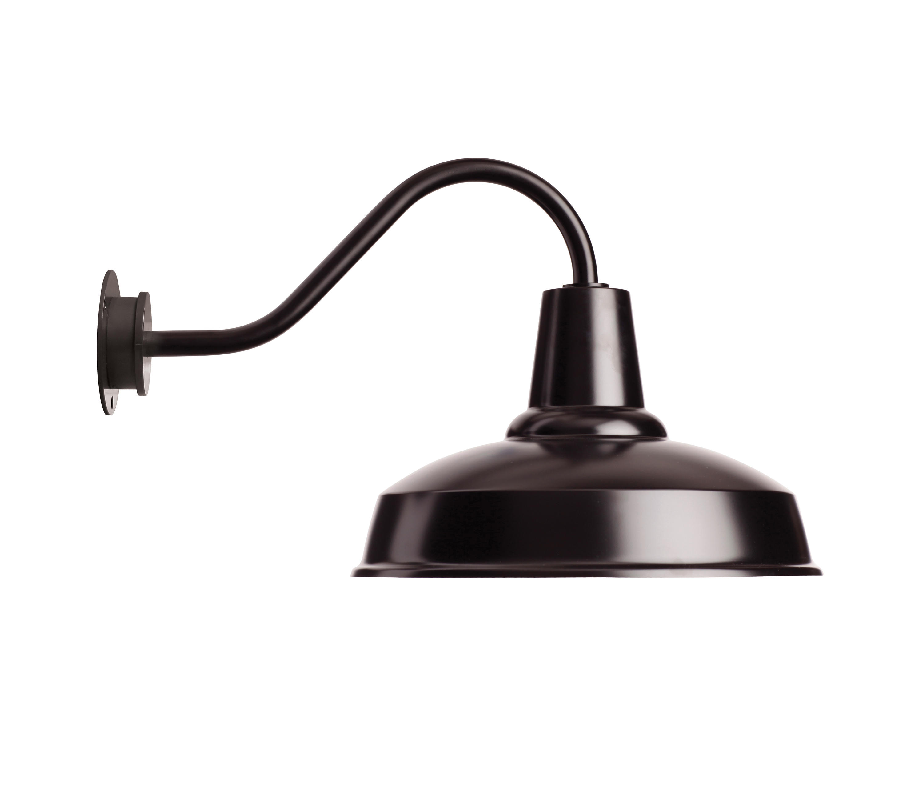 blk gooseneck armq light black with shade barns bl barn lighting zoom item