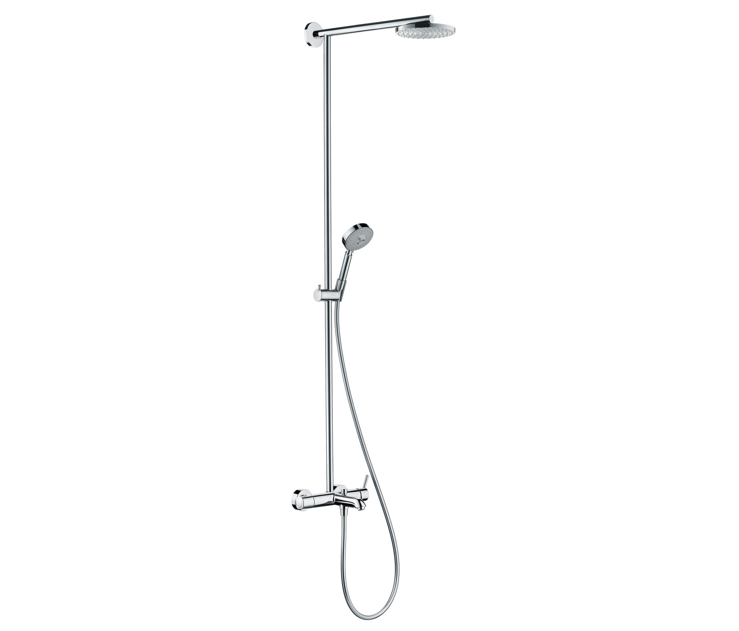 Hansgrohe raindance s 180 air showerpipe ecosmart for Duchas hansgrohe