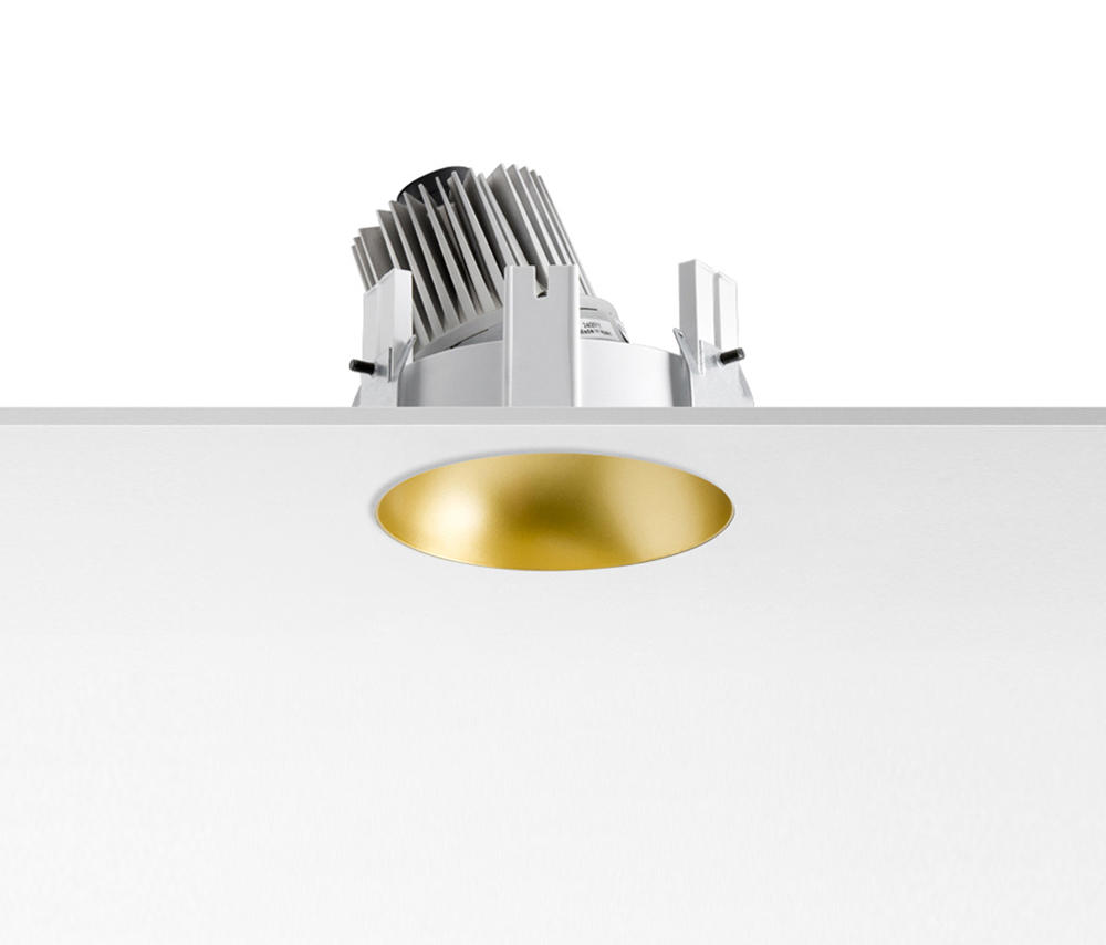 kap 5 7 round wall washer led recessed ceiling lights from flos