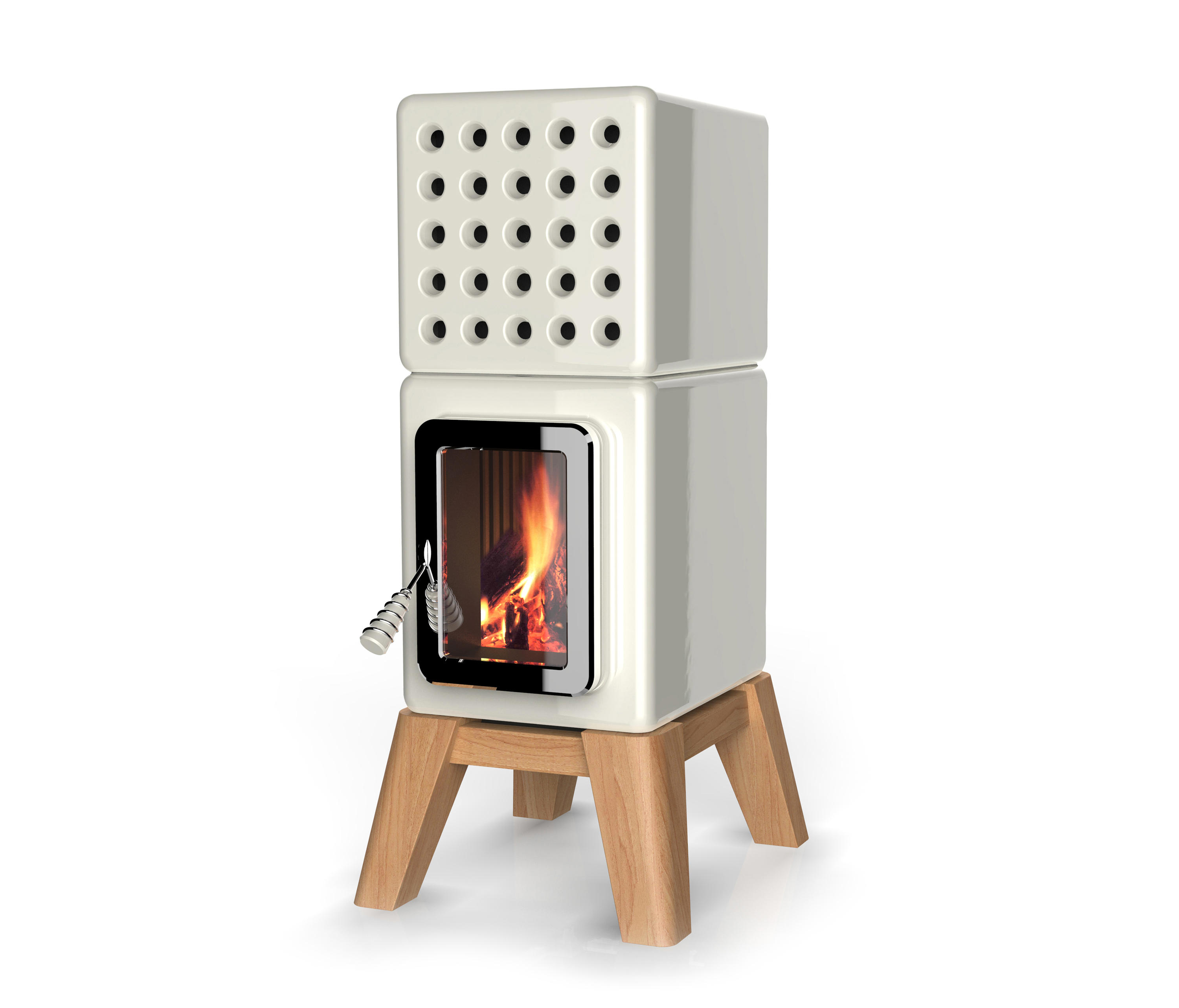 Cubi Stack Wood Stoves From La Castellamonte Architonic