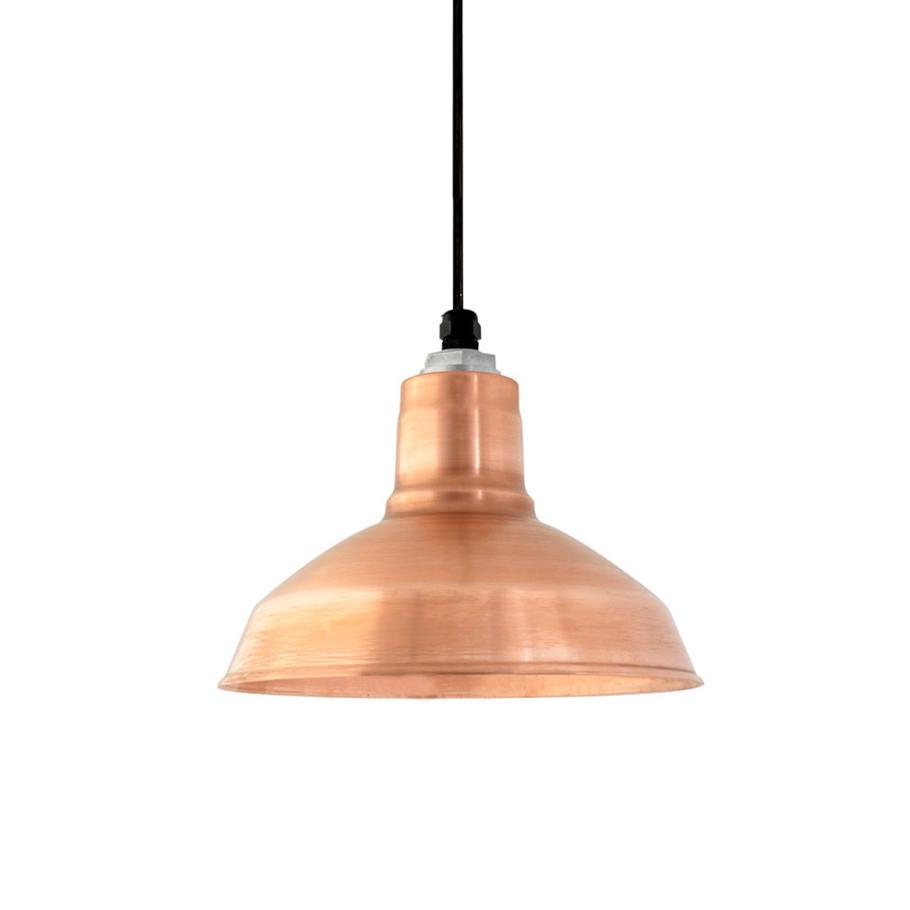 The Drake Copper Pendant Suspended Lights From Barn Light