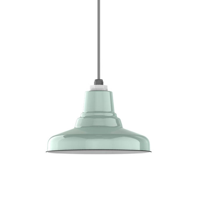 Ivanhoe Union Warehouse Porcelain Pendant Suspended