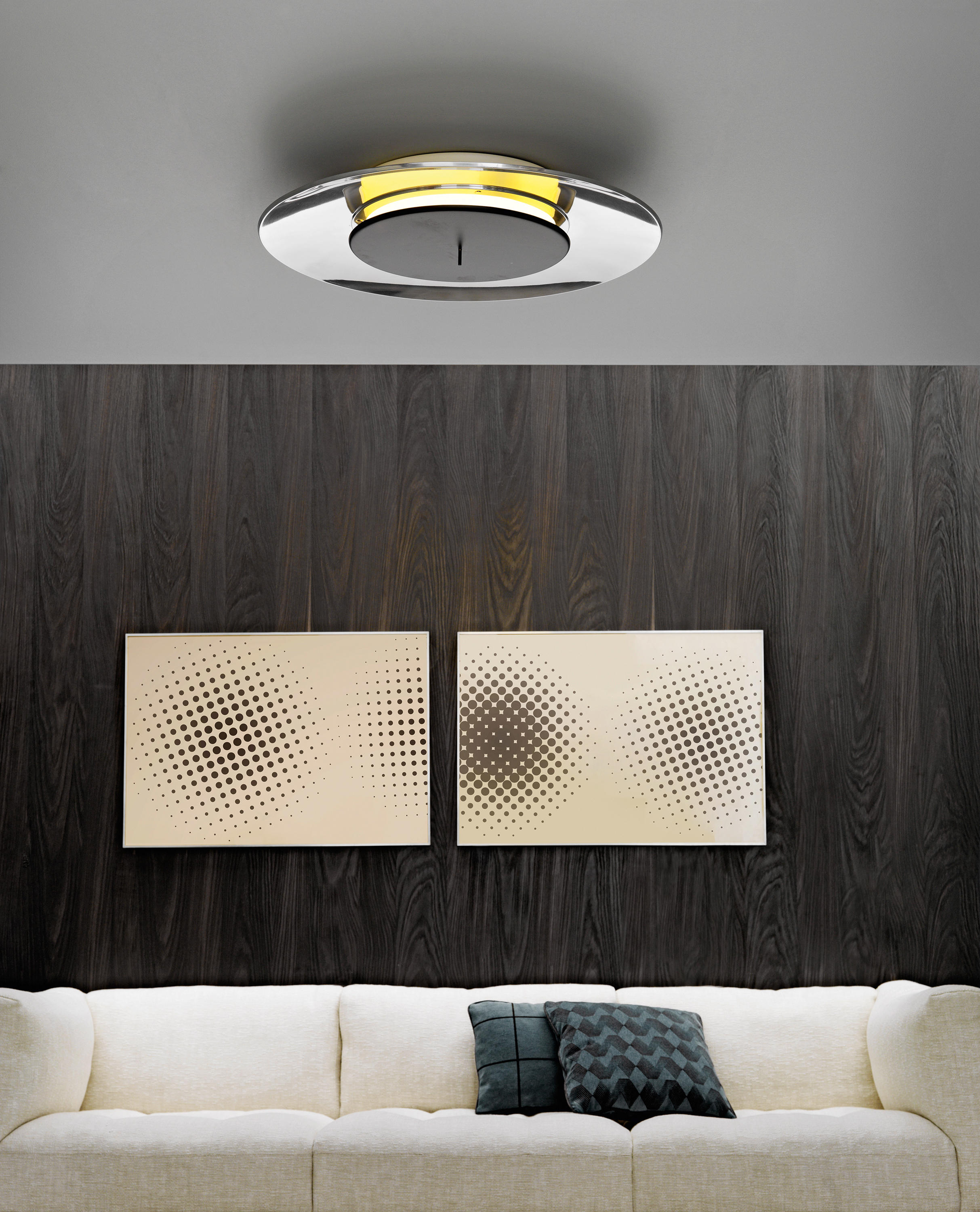 Lunaire Wall And Ceiling Lamp By FontanaArte | Wall Lights