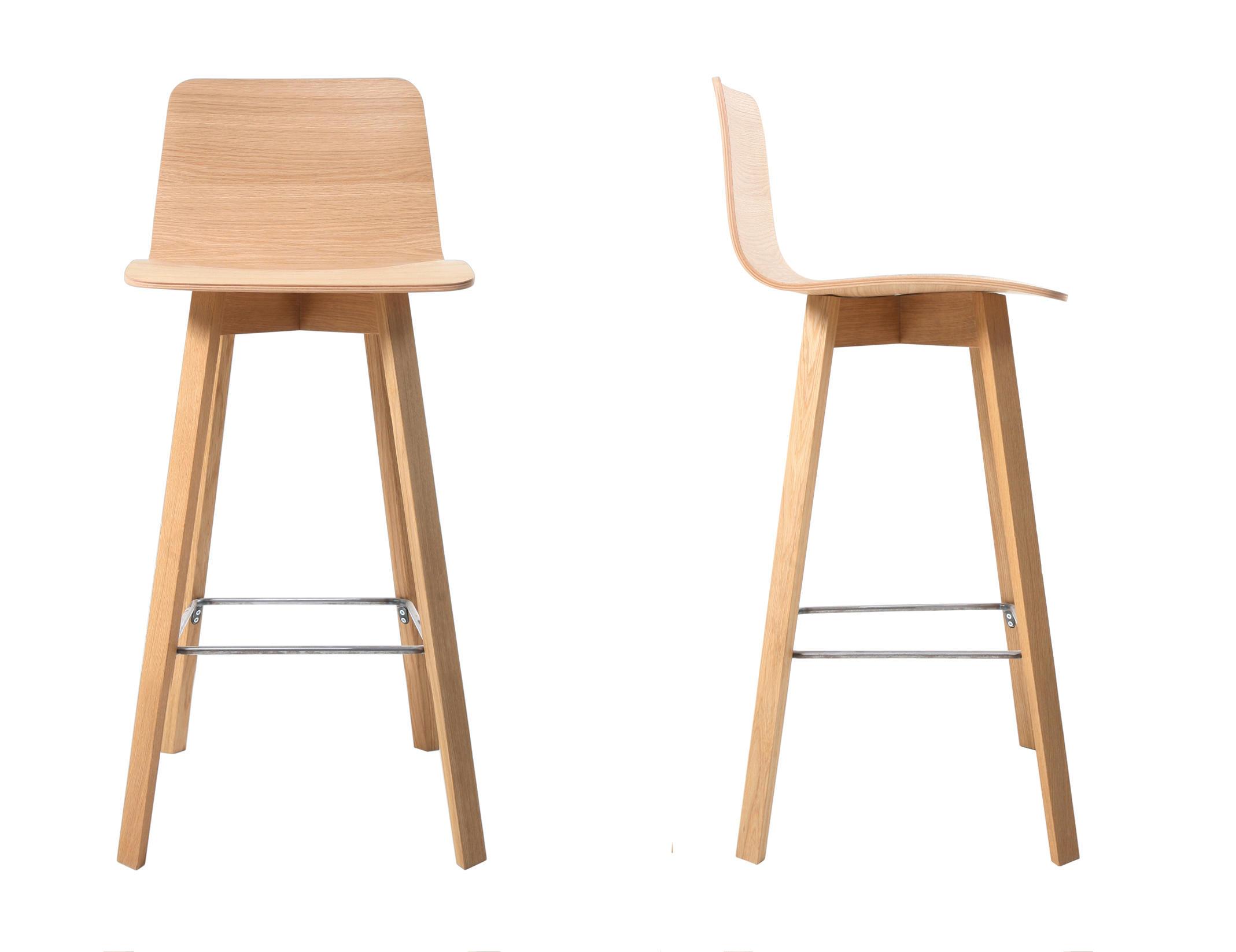 Maverick bar bar stools from kff architonic for Barhocker rosa