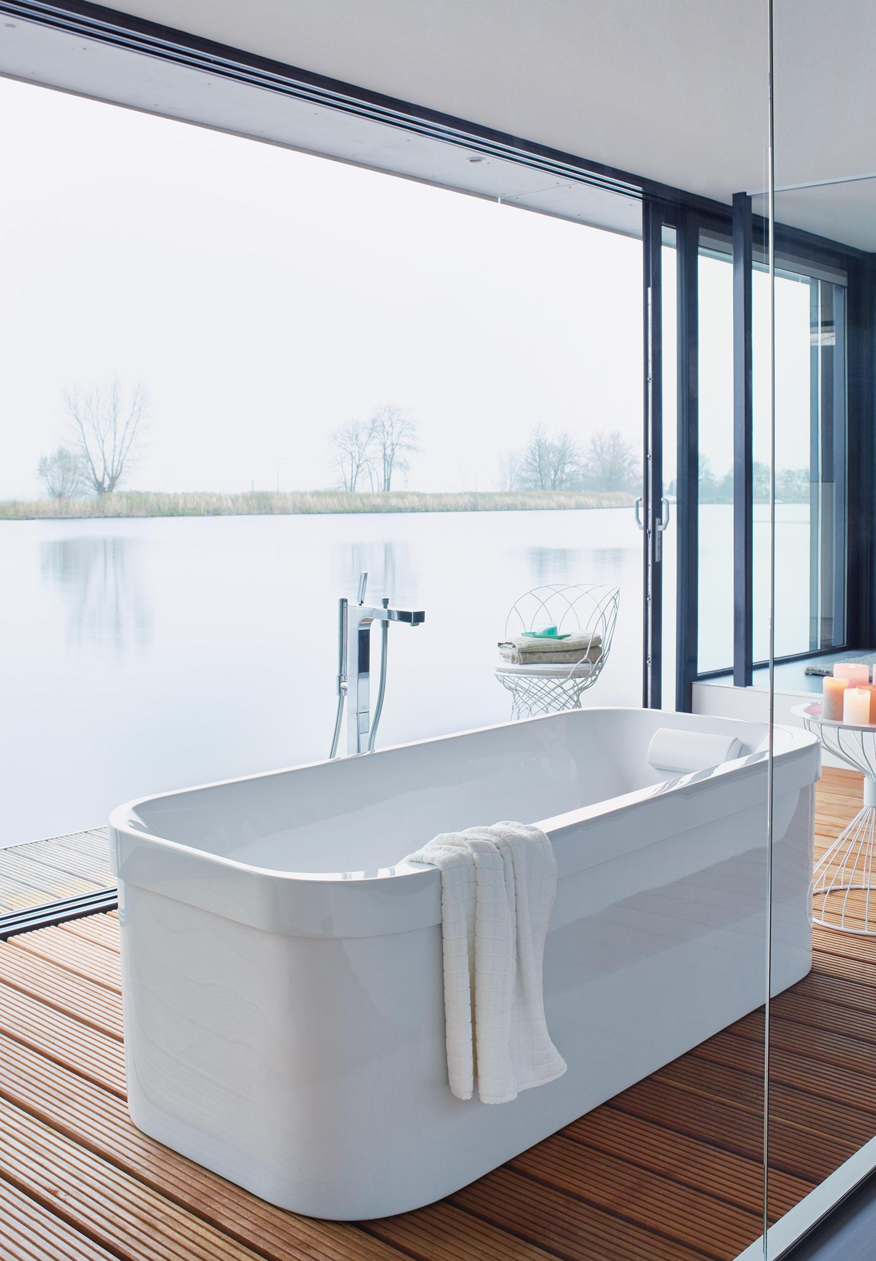 Happy d 2 vasca da bagno vasche duravit architonic - Vasca da bagno duravit ...