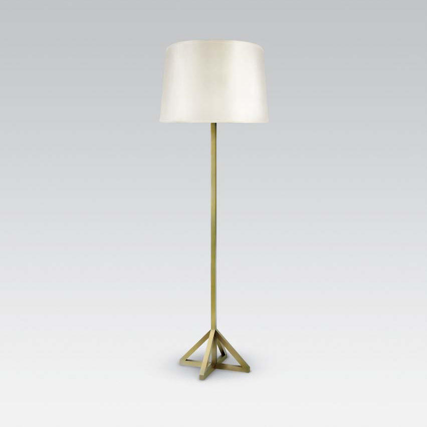 Monterey floor lamp by tuell reynolds general lighting