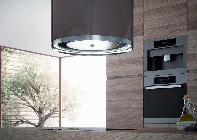 deckenlifthaube skyline round k chenabzugshauben von berbel architonic. Black Bedroom Furniture Sets. Home Design Ideas
