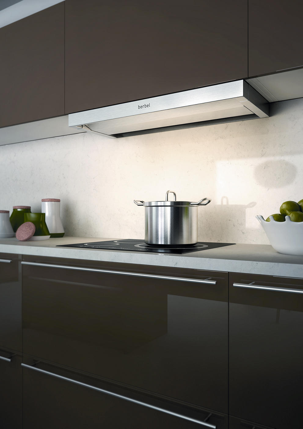 Built In Hood Moveline Extractors From Berbel Architonic