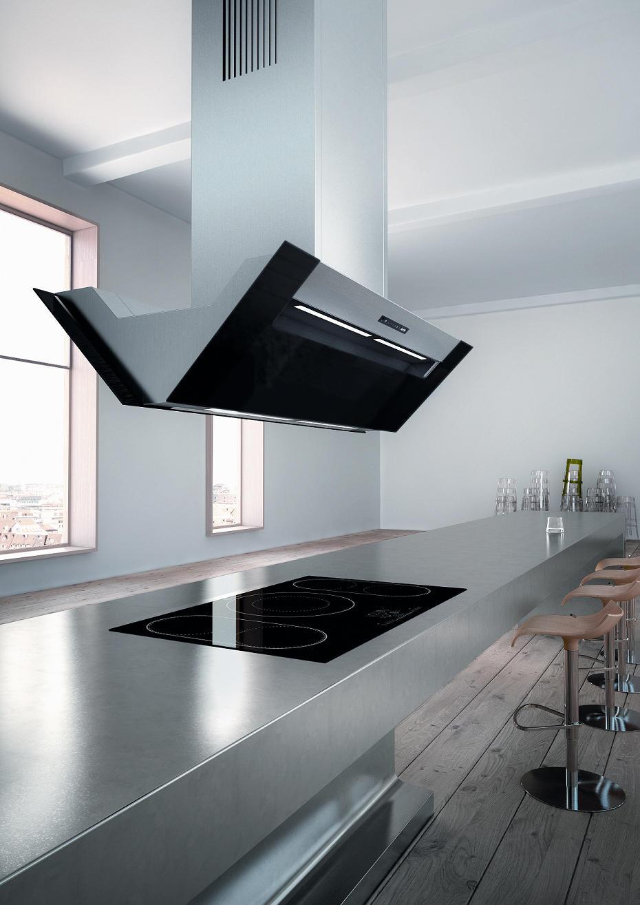 INSELHAUBE ERGOLINE - Küchenabzugshauben von Berbel | Architonic