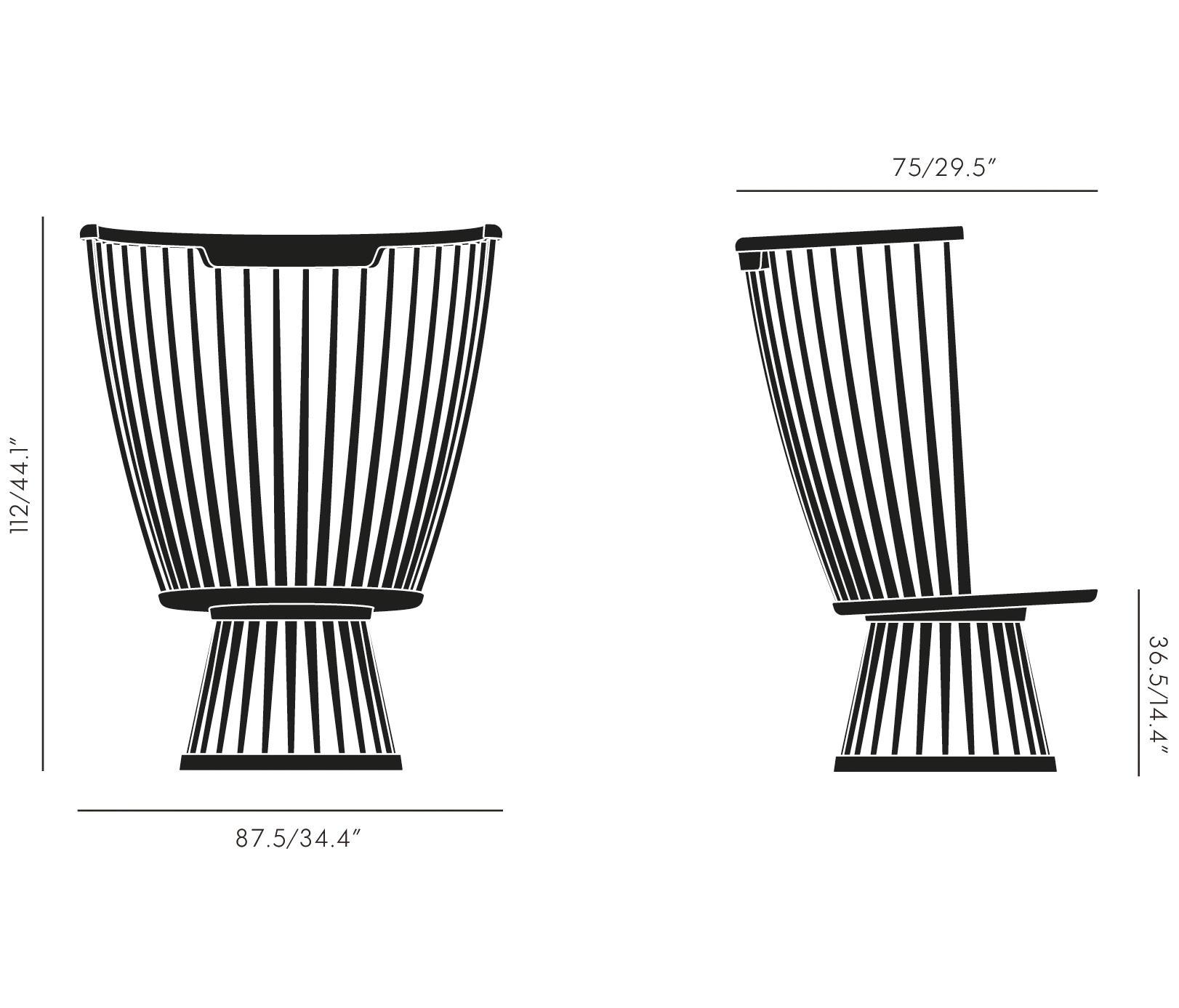 Fan Chair Black Amp Designer Furniture Architonic