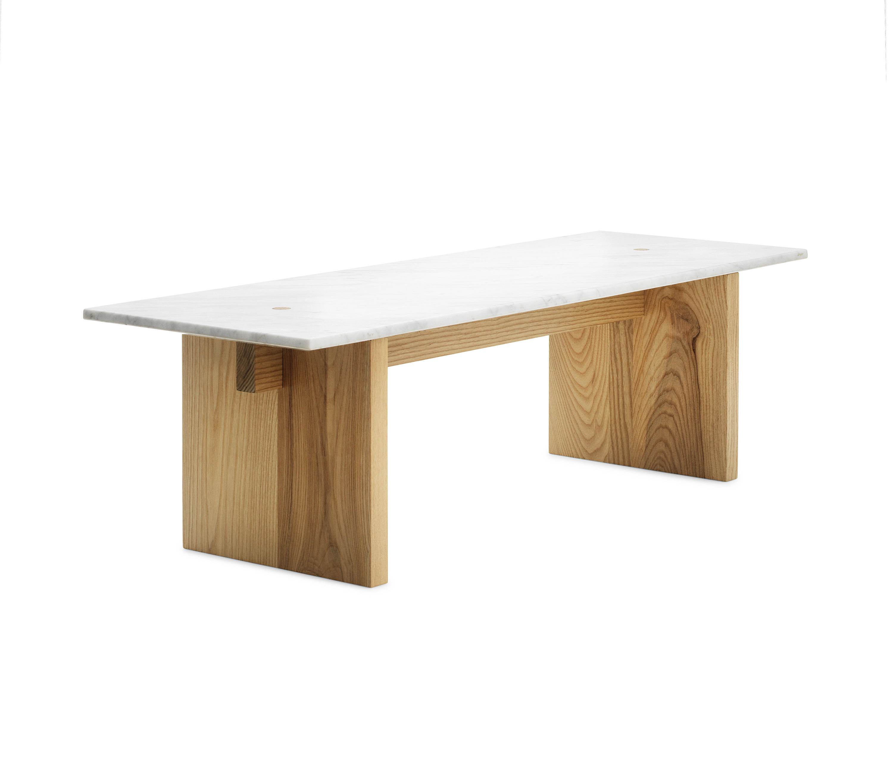 Solid table dining tables from normann copenhagen for Marmortisch modern