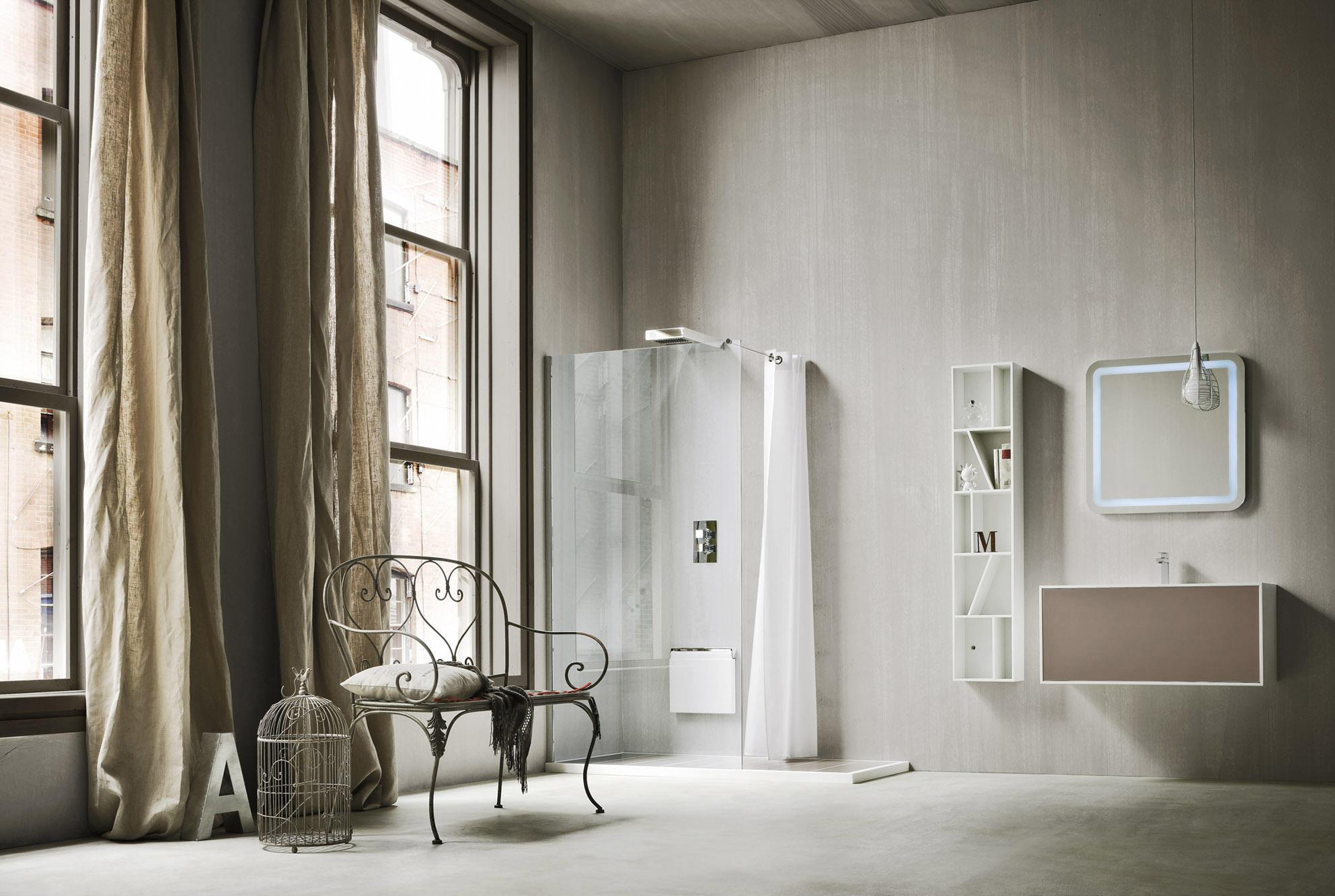 Giano Ducha Plato Y Cierre Mamparas Para Duchas De Rexa Design  # Muebles Di Giano