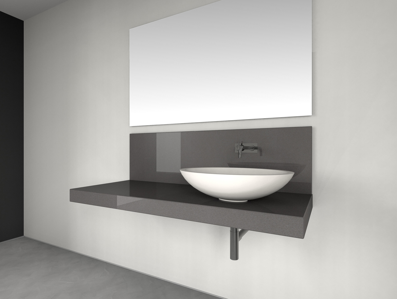 console basin design nr 1012 quarzgrau poliert. Black Bedroom Furniture Sets. Home Design Ideas