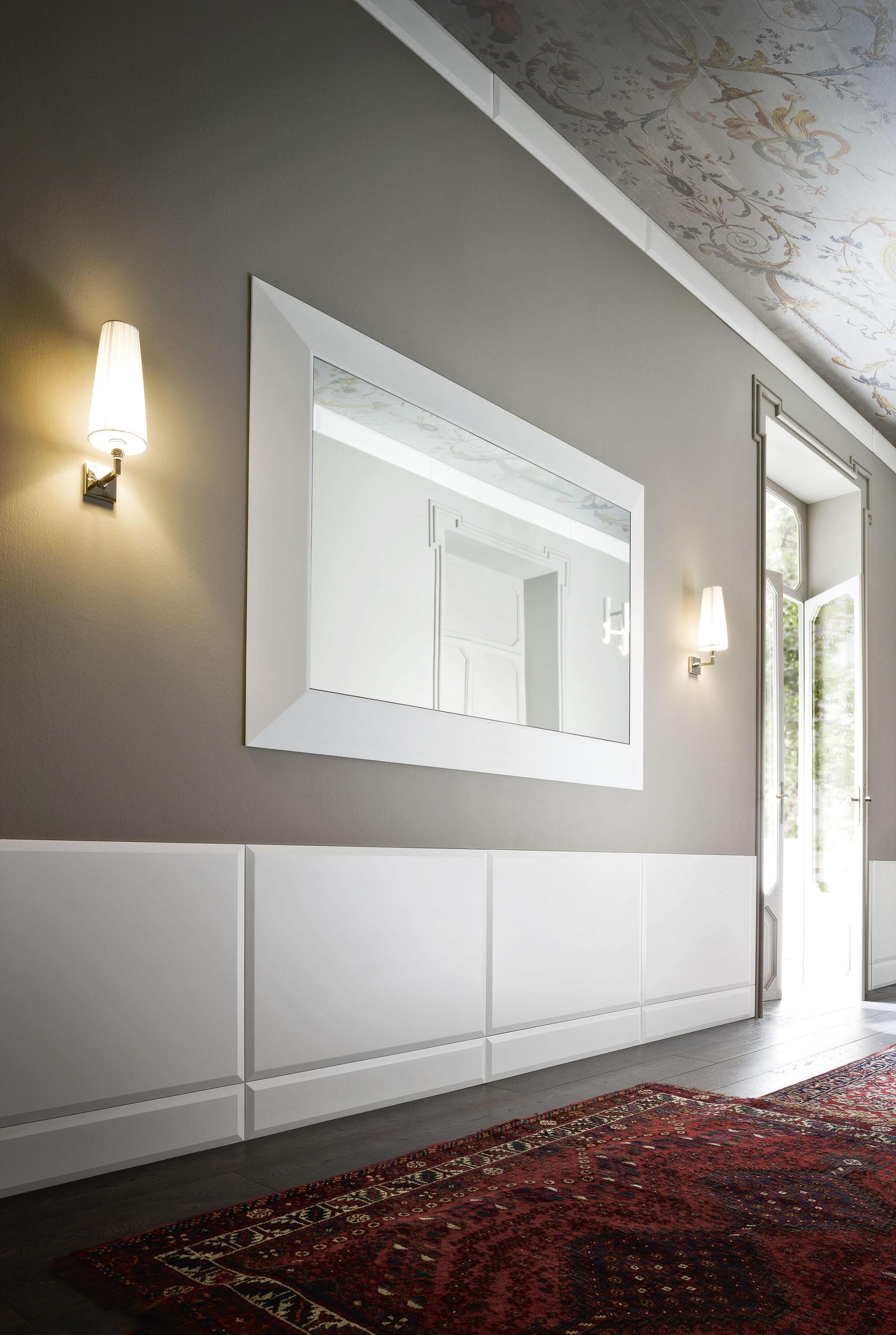 Warp spiegel wandspiegel von rexa design architonic for Wandspiegel design