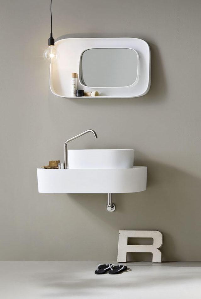 Fonte miroir miroirs muraux de rexa design architonic - Miroirs muraux design ...