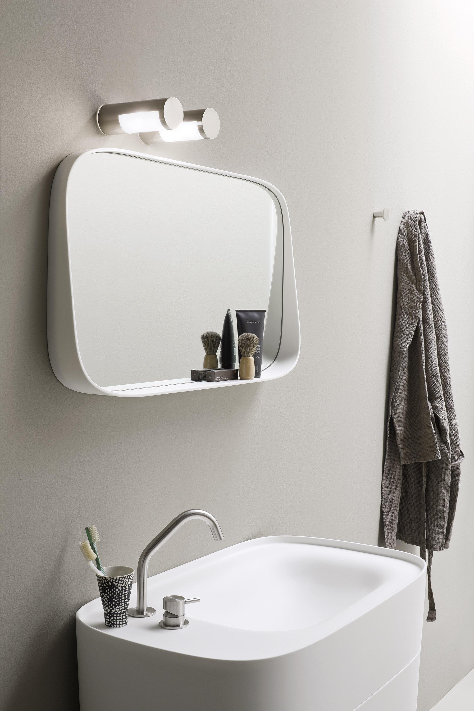 Fonte specchiera specchi da parete rexa design architonic for Specchi bagno design