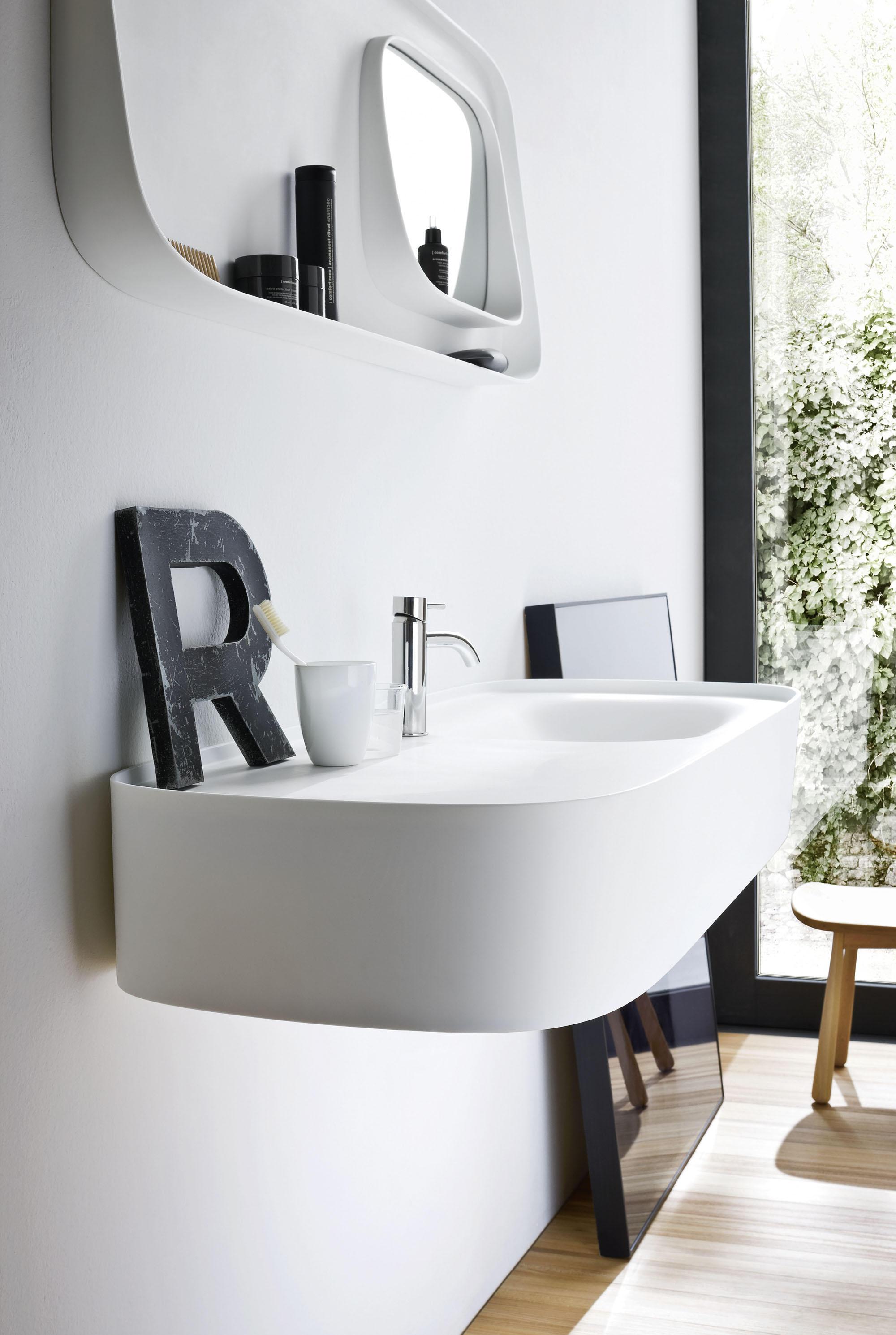 fonte platte mit integriertem waschbecken waschpl tze von rexa design architonic. Black Bedroom Furniture Sets. Home Design Ideas