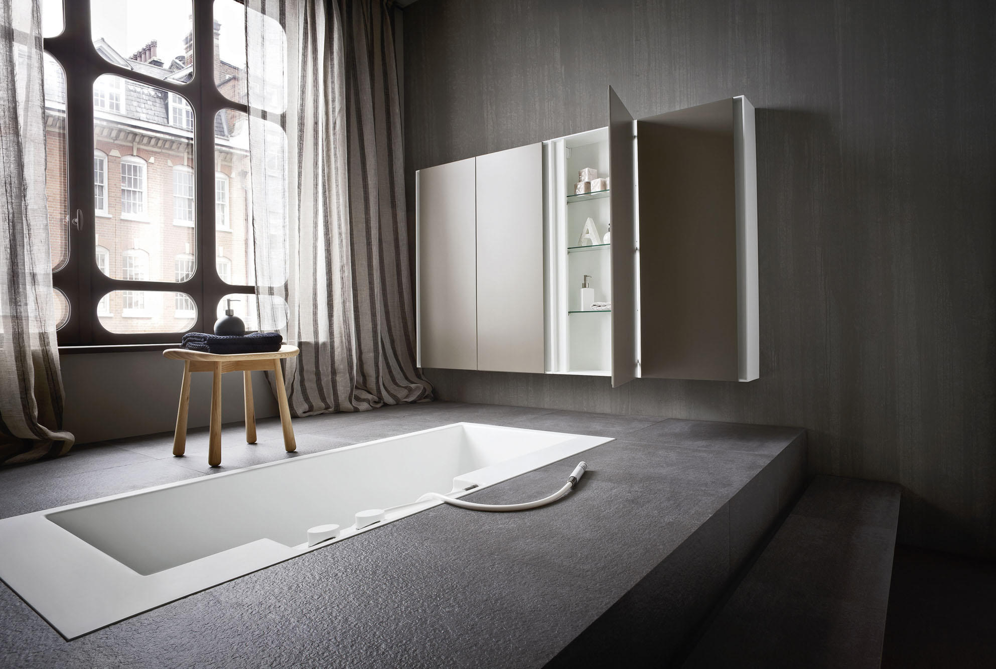 ERGO_NOMIC RECESSED BATHTUB - Built-in bathtubs from Rexa Design ...