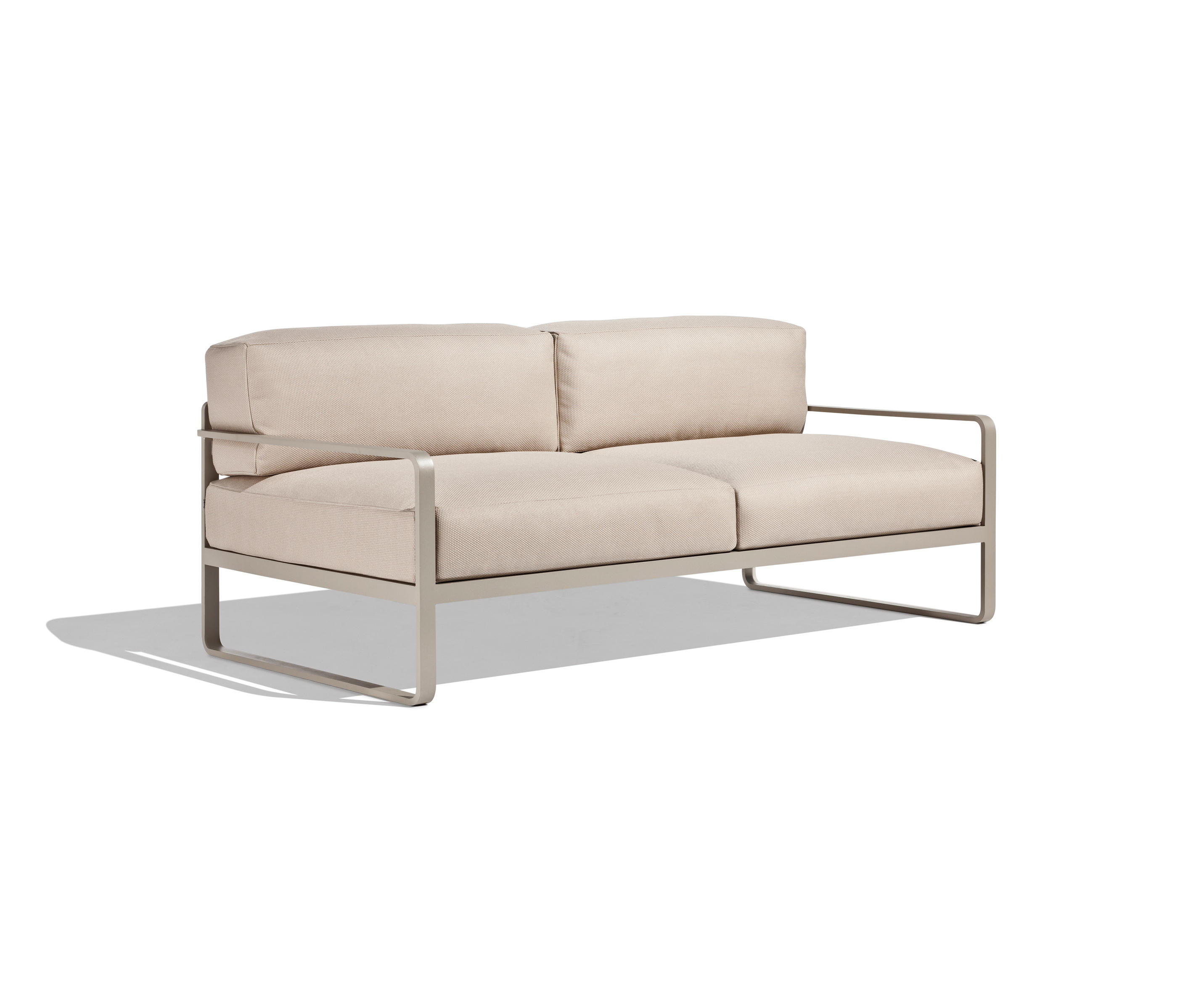 Sit 2 seater sofa garden sofas from bivaq architonic for Sofa esquinero jardin