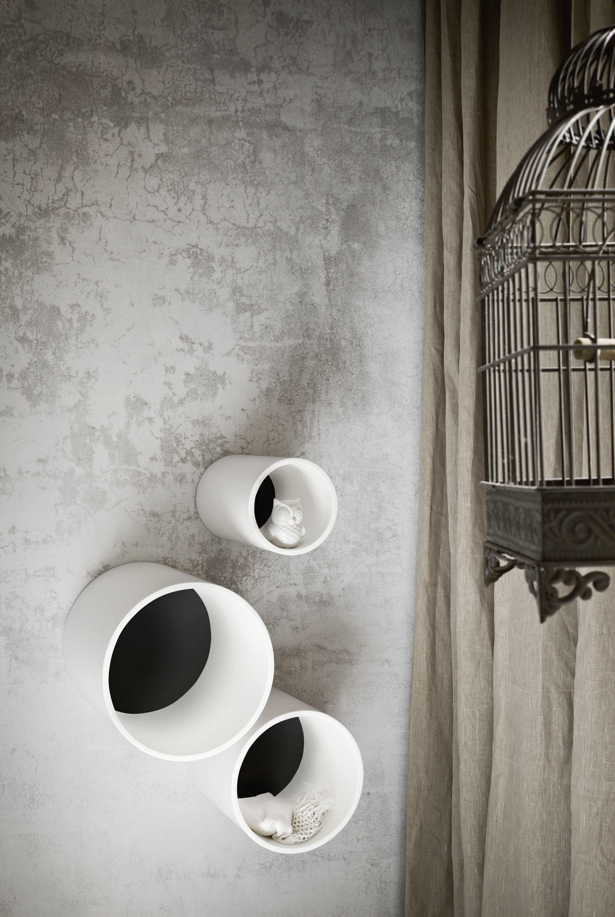 Pensile hole mensole bagno rexa design architonic for Mensole bagno design