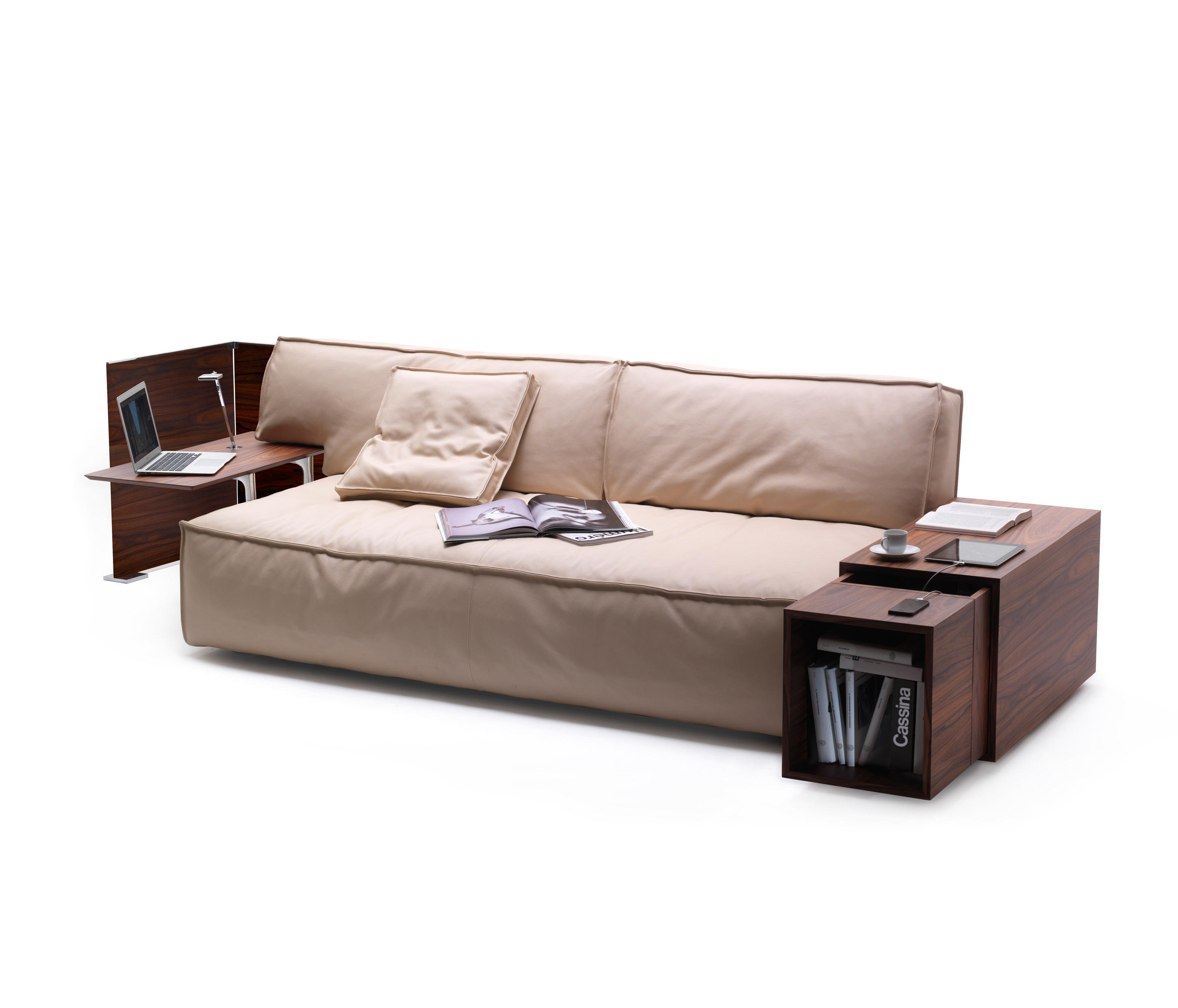 244 my world lounge sofas from cassina architonic - Sofas con cajones ...