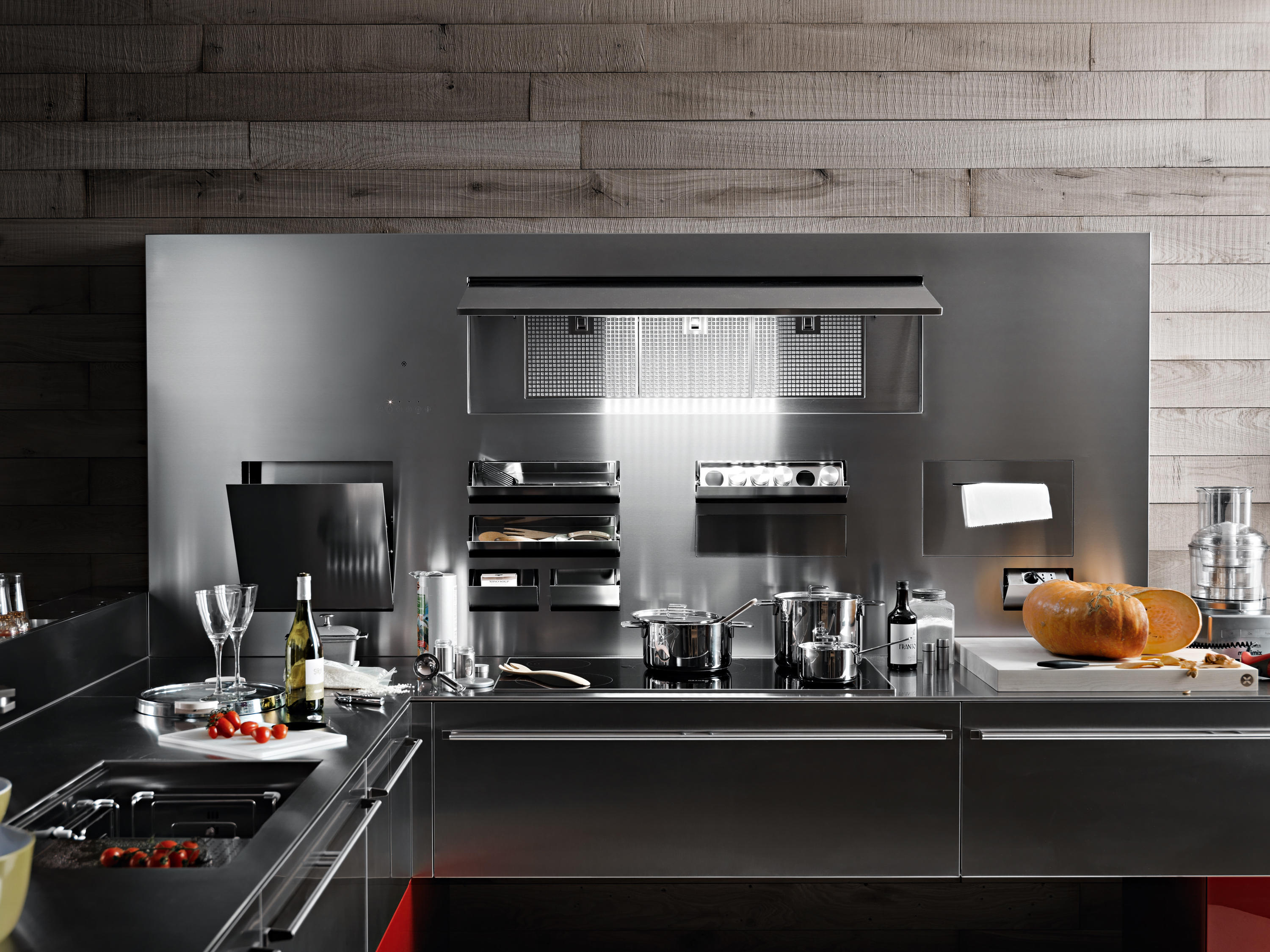 Inox Design Keukens : Artematica inox fitted kitchens from valcucine architonic