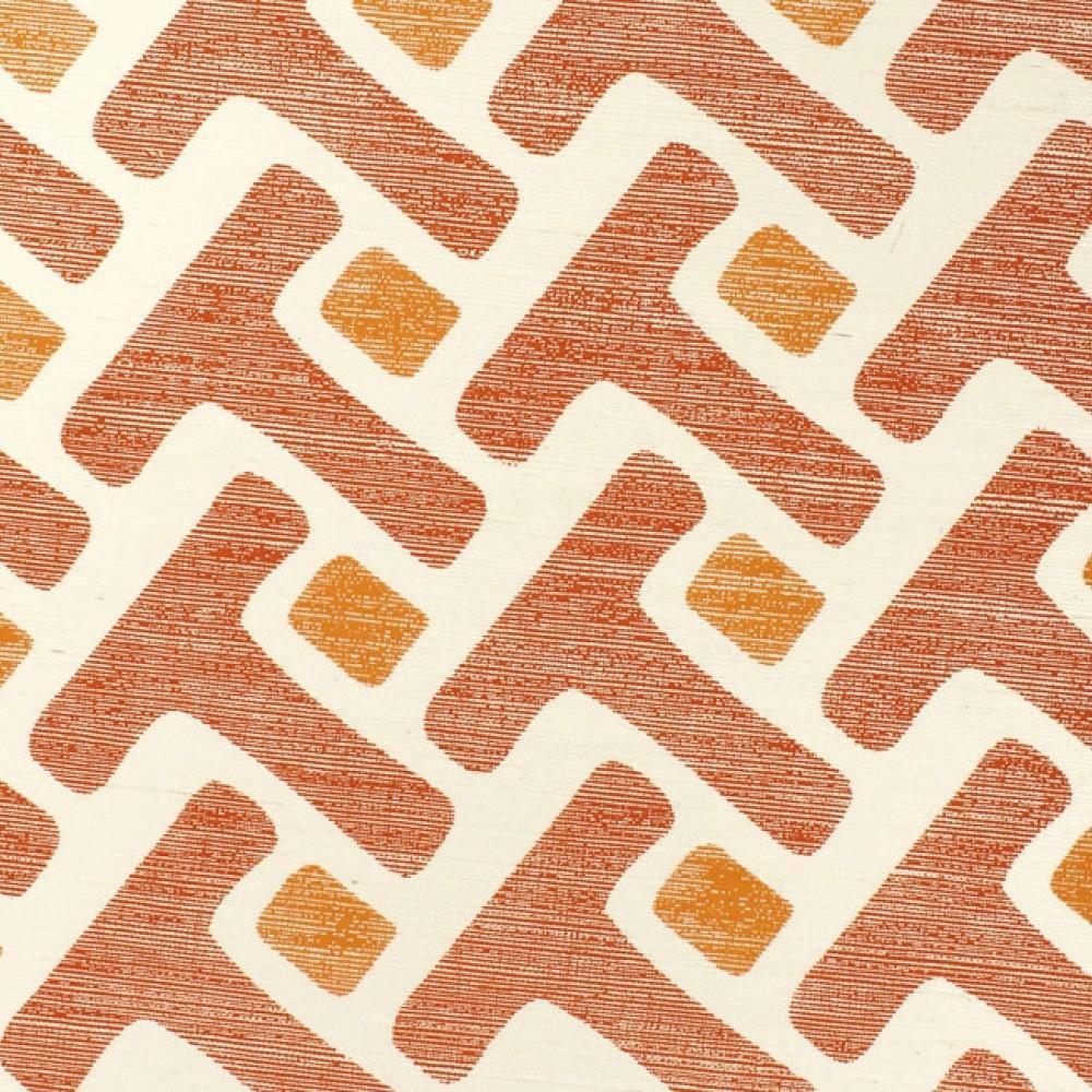 Tease Orange by Phillip Jeffries | Wall coverings / wallpapers
