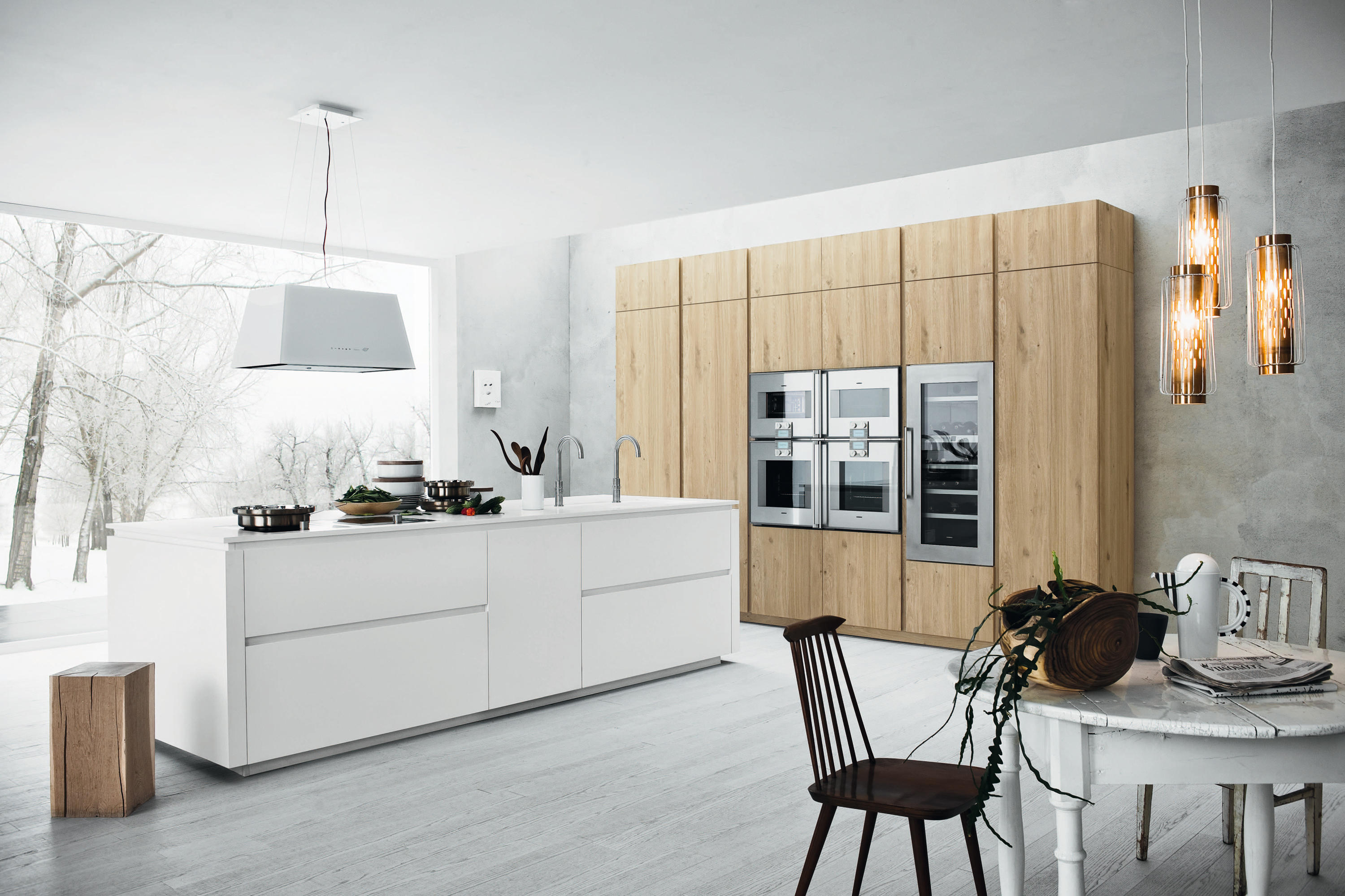 cloe | composition 1 - fitted kitchens from cesar arredamenti