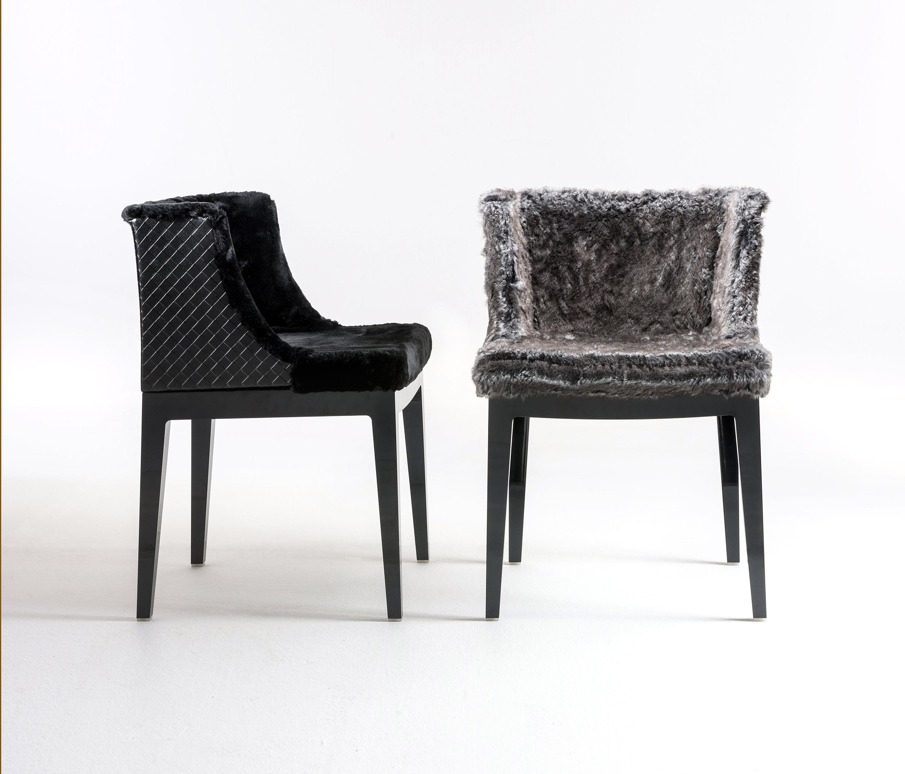 mademoiselle kravitz chaises de restaurant de kartell architonic. Black Bedroom Furniture Sets. Home Design Ideas