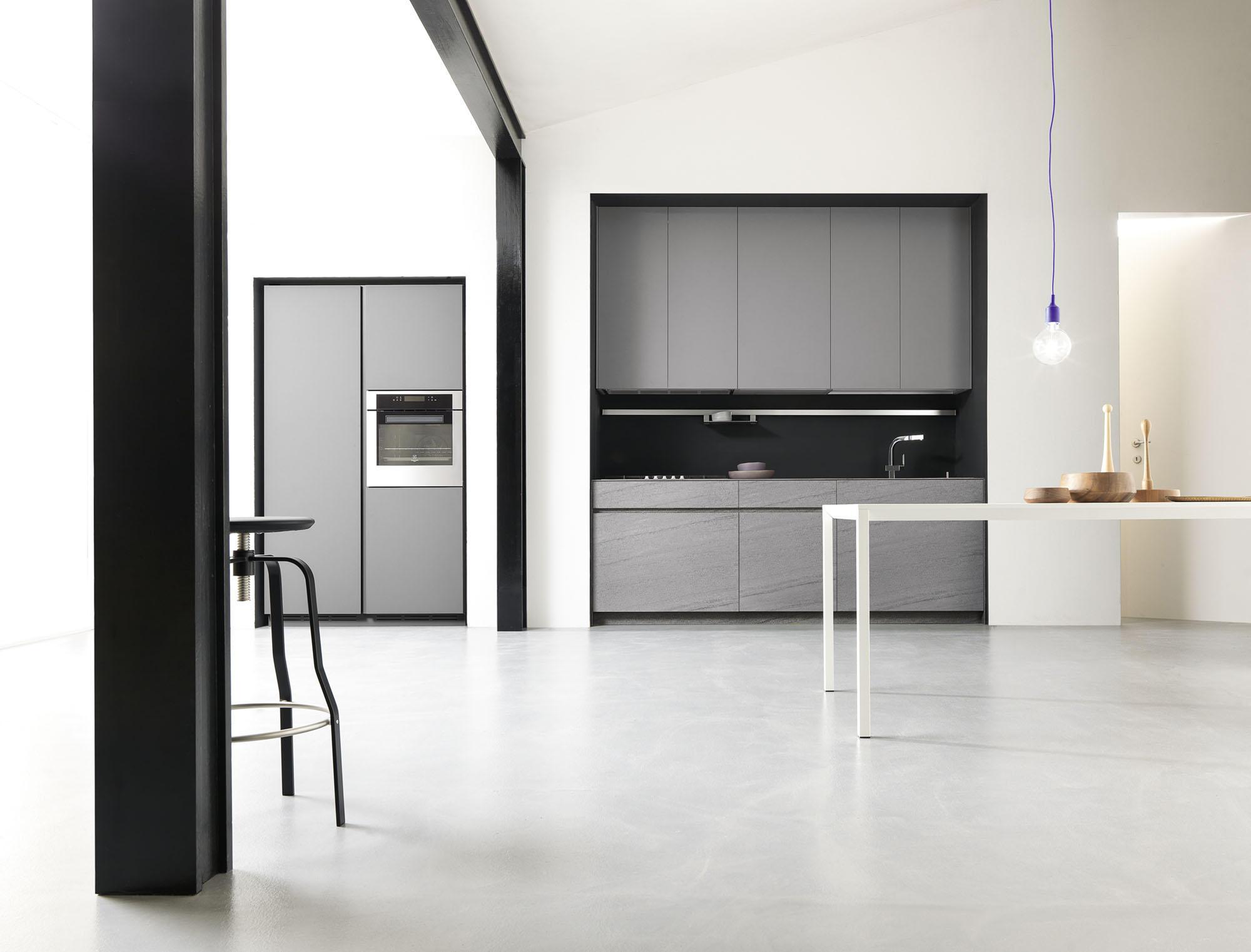 M onoliti cucine a parete meson 39 s cucine architonic - Cucine a parete ...