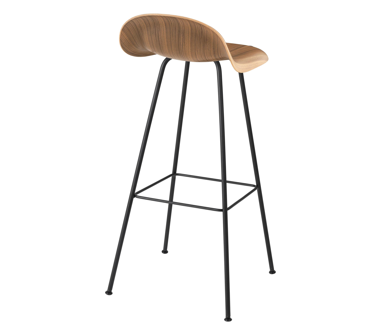 GUBI STOOL – CENTER BASE Bar stools from GUBI