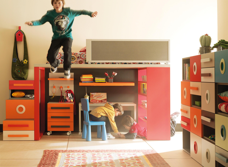 Composici N 4 Camas Para Ni Os De Lagrama Architonic ~ Escaleras Infantiles Para Camas Altas