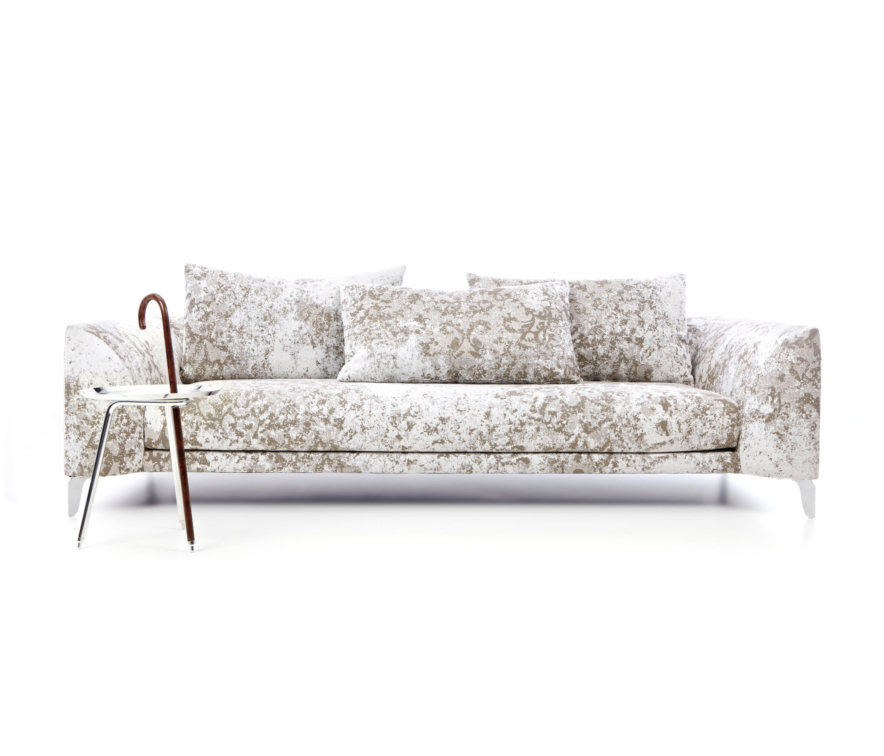 Canvas Sofa Indoor Outdoor Furniture Made From Salvaged