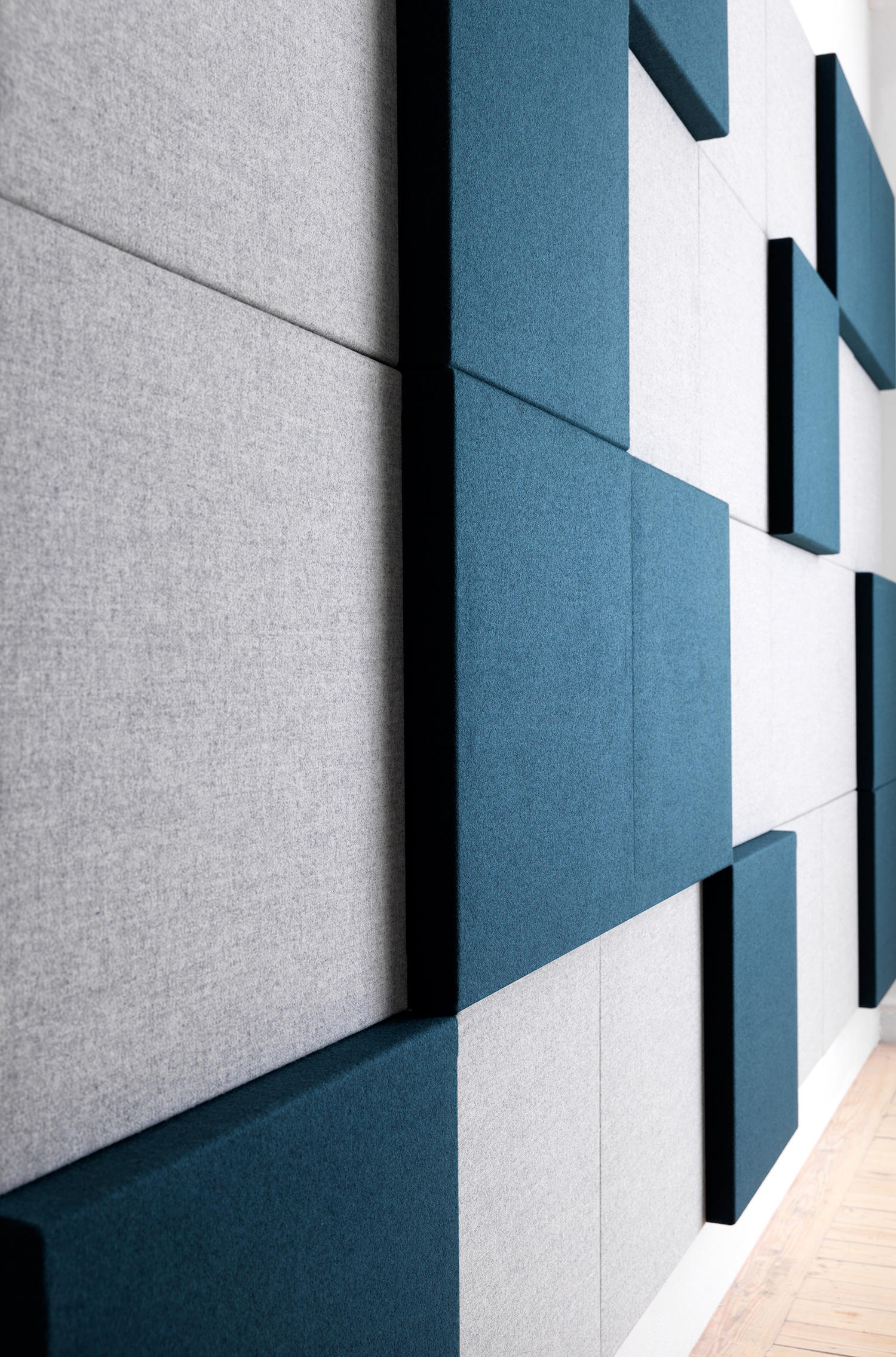 SONEO WALL - Sound absorbing fabric systems from Abstracta | Architonic