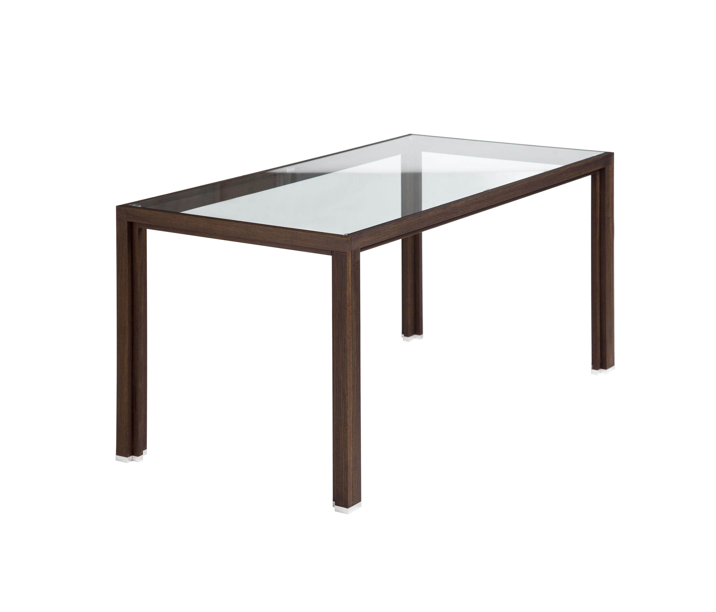 esstisch glas r uchereiche esstische von alvari architonic. Black Bedroom Furniture Sets. Home Design Ideas