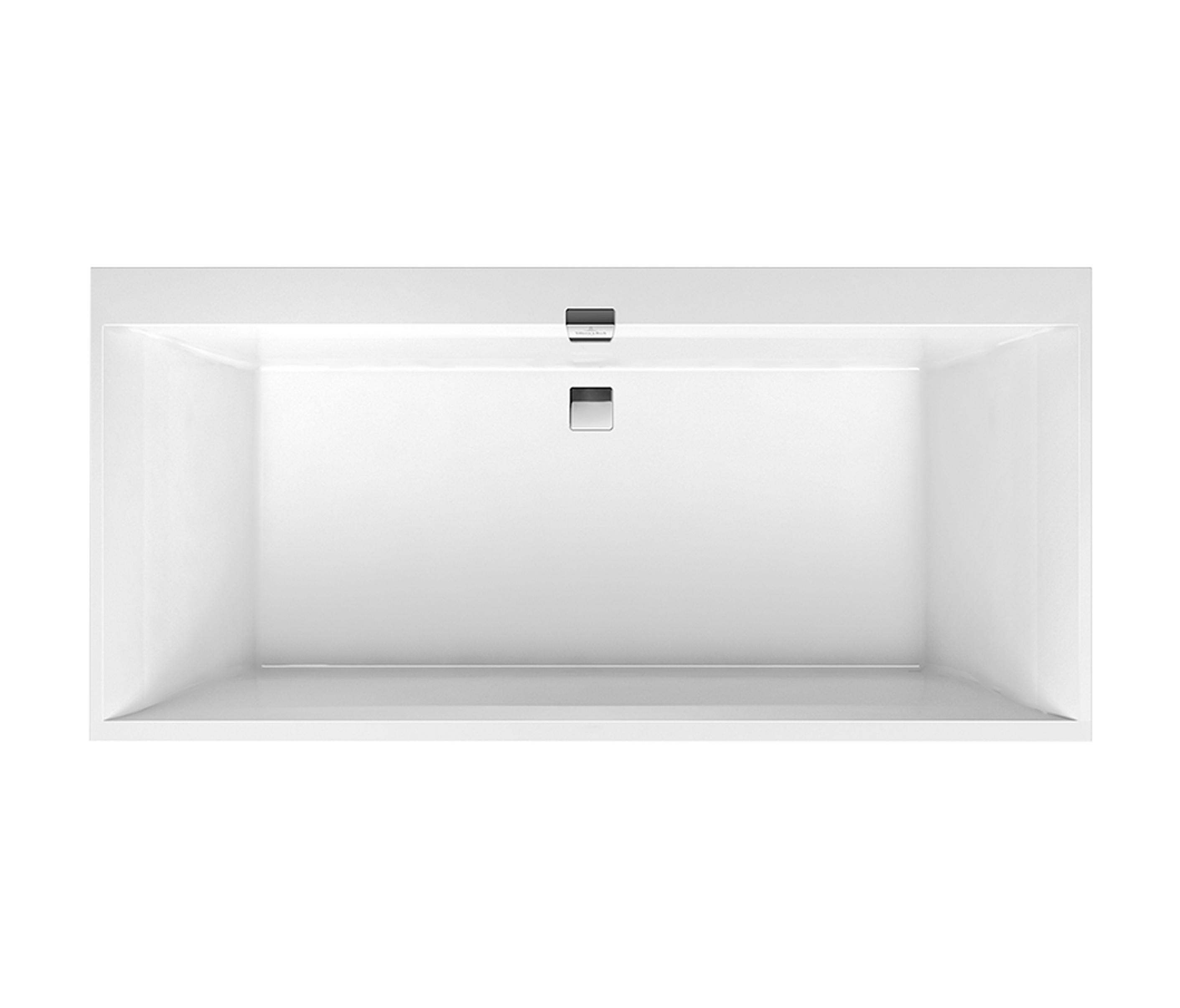 Squaro edge 12 vasca da bagno vasche ad incasso villeroy - Vasche da bagno ad incasso ...
