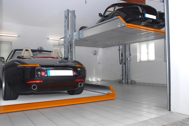 singlevario 2061 parksysteme von klaus multiparking. Black Bedroom Furniture Sets. Home Design Ideas