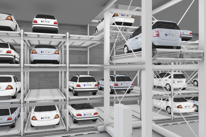mastervario r3l parking systems from klaus multiparking. Black Bedroom Furniture Sets. Home Design Ideas