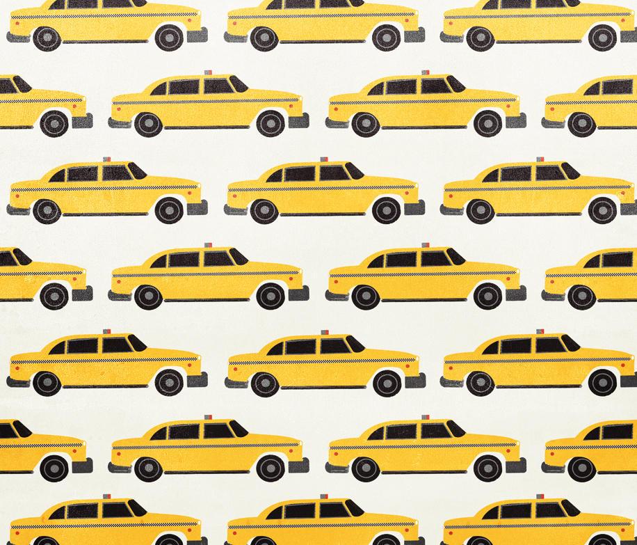 Hey taxi carta da parati carta da parati wall dec for Produttori carta da parati